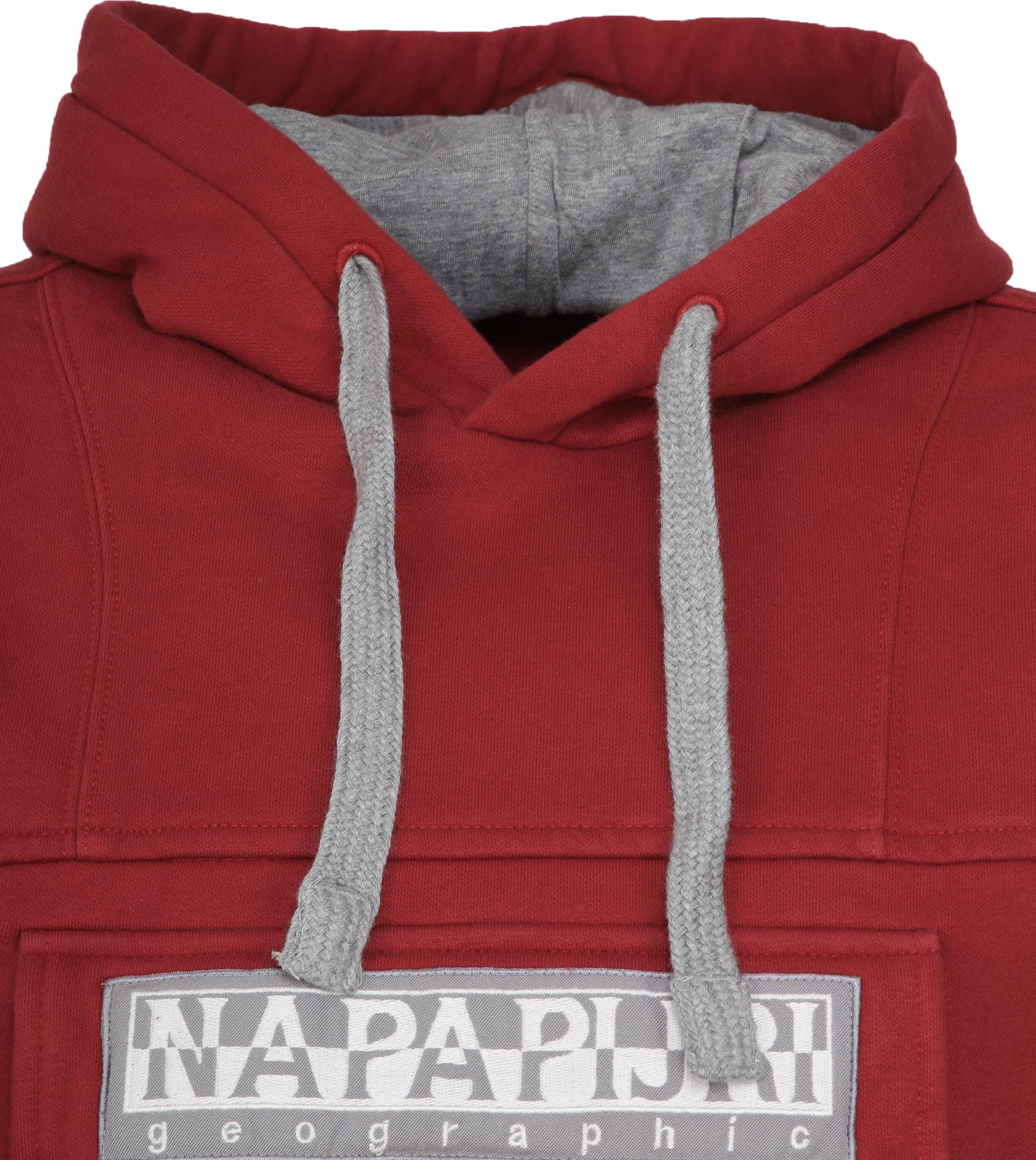 Napapijri Sweater Burgee Bordeaux foto 1