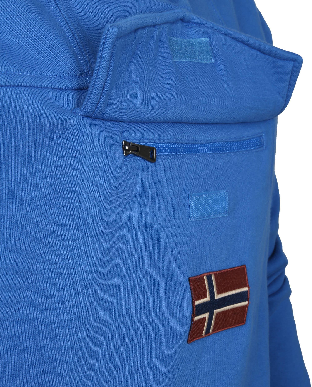 Napapijri Sweater Burgee Kobalt Blauw foto 1