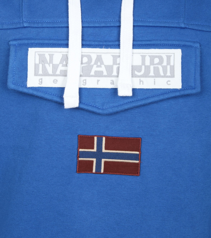 Napapijri Sweater Burgee Kobalt Blauw foto 2