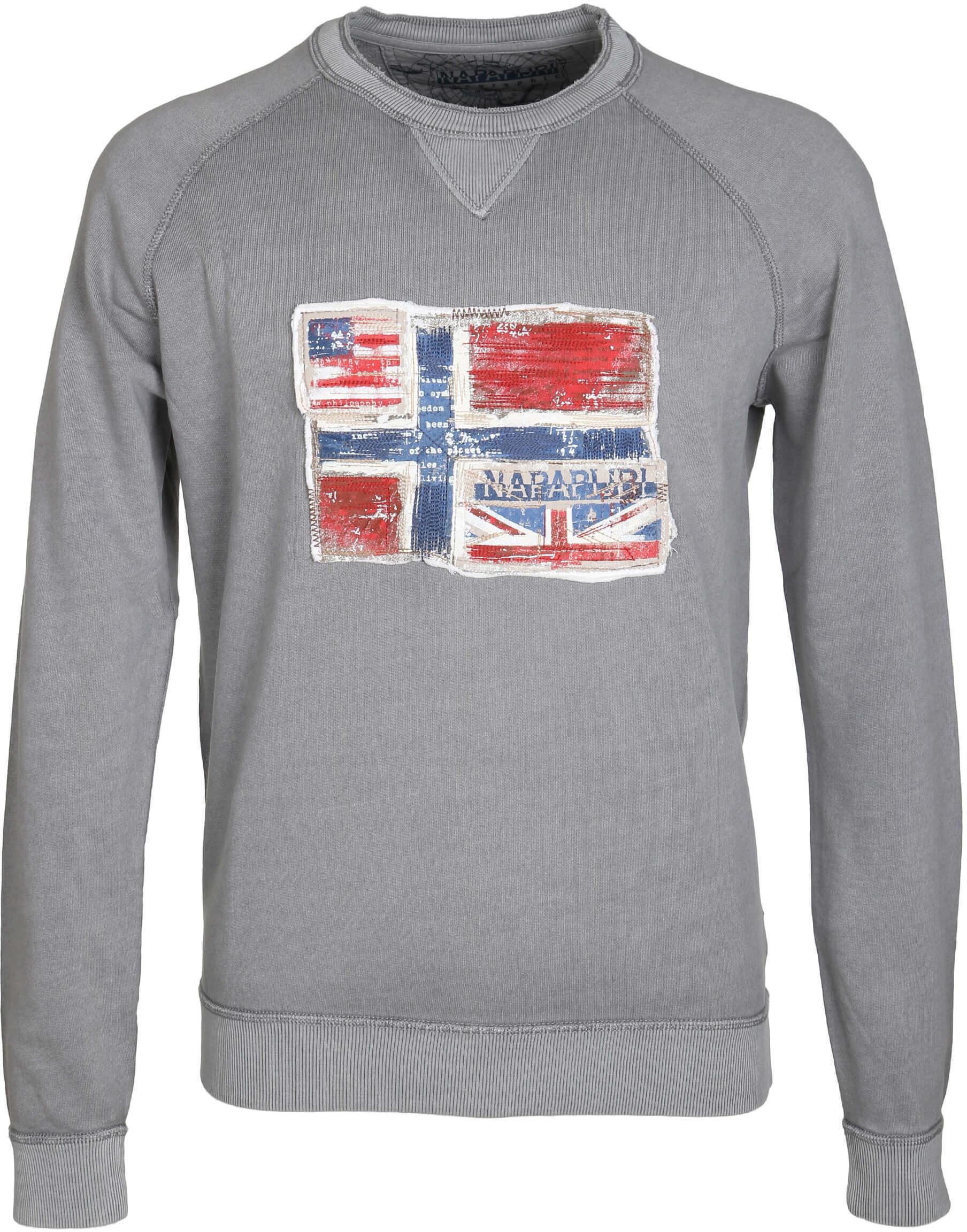 Napapijri Sweater Grijs foto 0