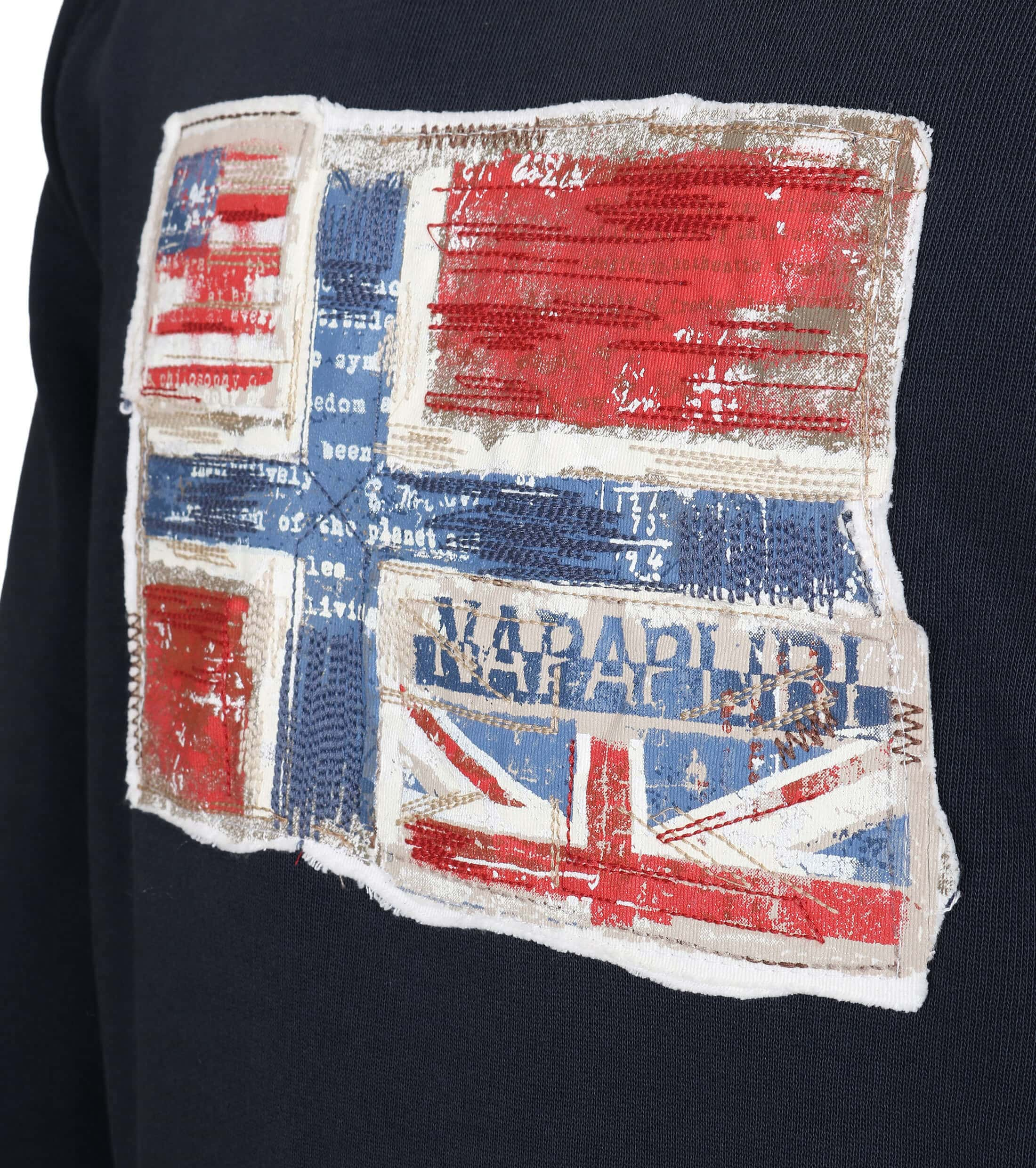 Napapijri Sweater Navy foto 1