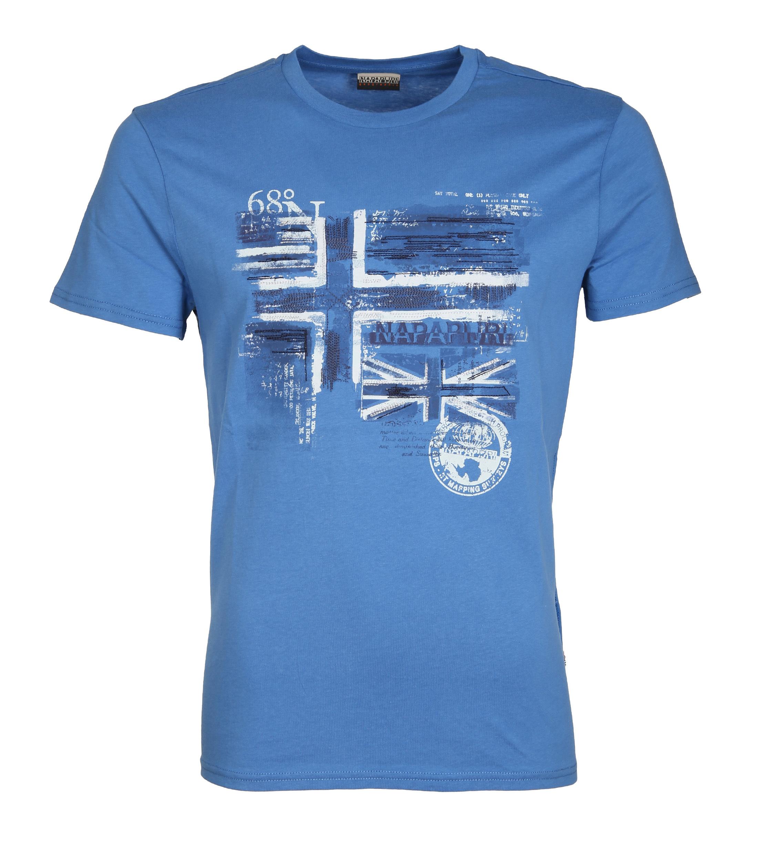 Napapijri T-shirt Sancy Print Blauw foto 0