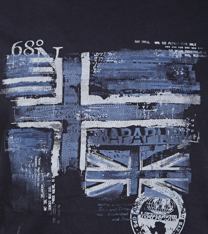 Napapijri T-shirt Sancy Print Navy foto 1