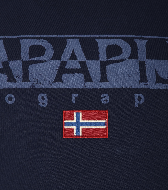 Napapijri T-shirt Sapriol Dunkelblau foto 1