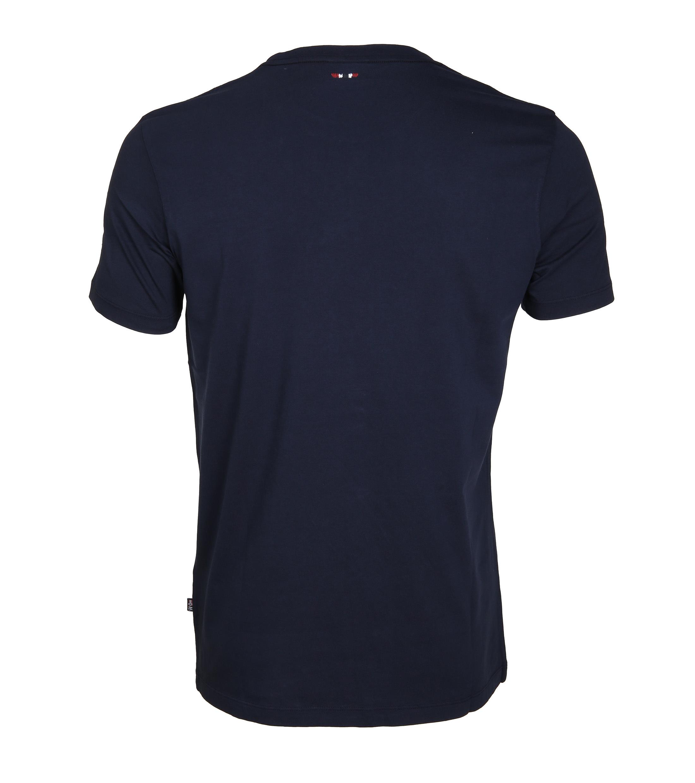 Napapijri T-shirt Sapriol Dunkelblau foto 2