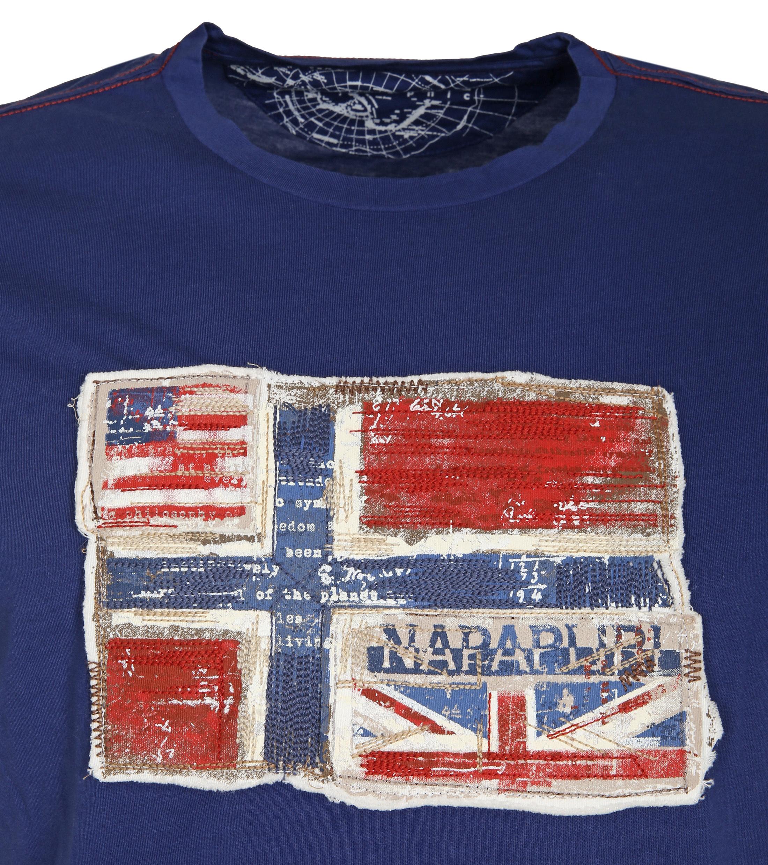Napapijri T-shirt Senou Flag Kobalt foto 1