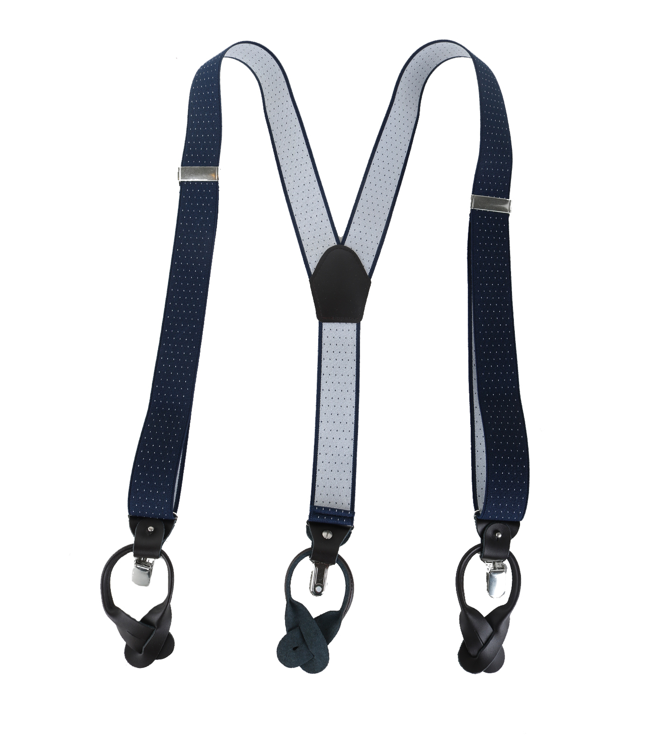 Navy-White Suspenders foto 1
