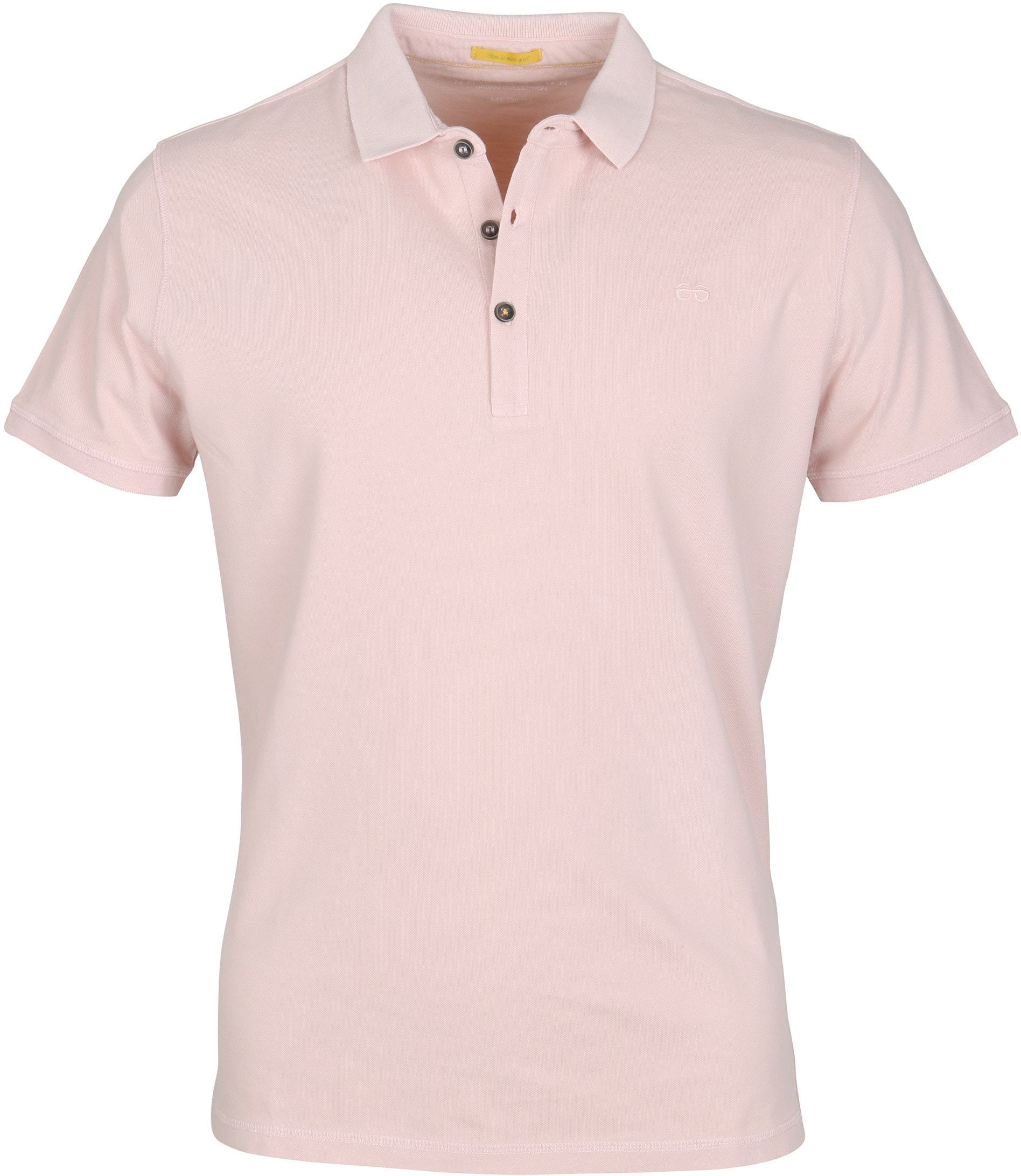 New In Town Polo Uni Roze foto 0