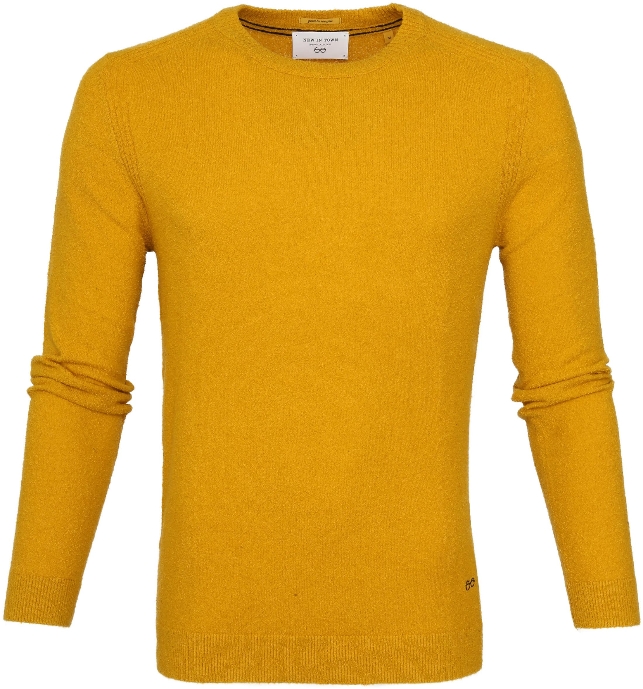New In Town Pull Geel foto 0
