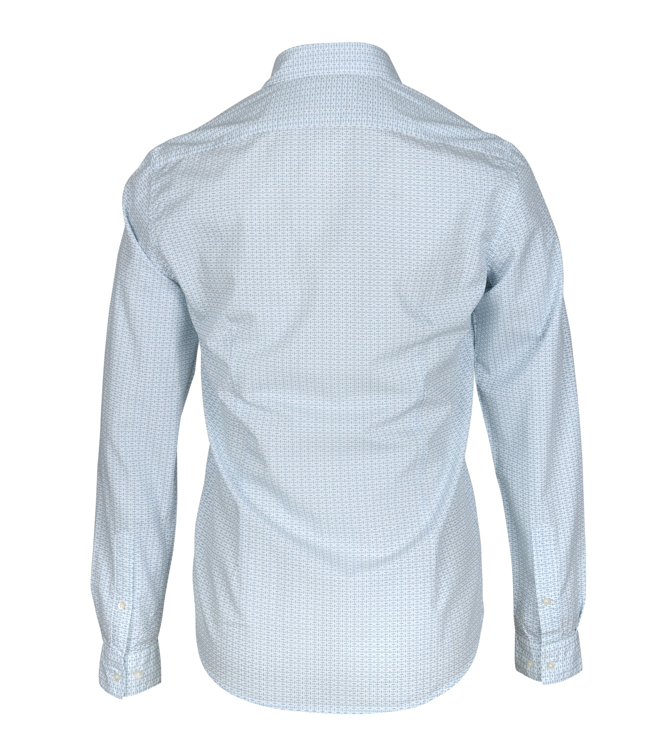 New In Town Shirt White Dessin foto 2