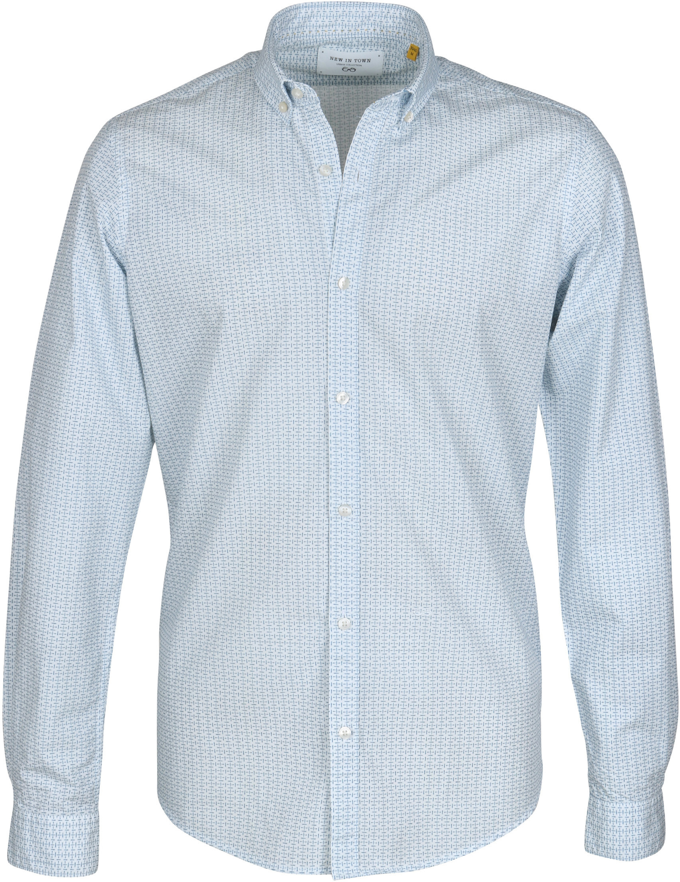New In Town Shirt White Dessin foto 0