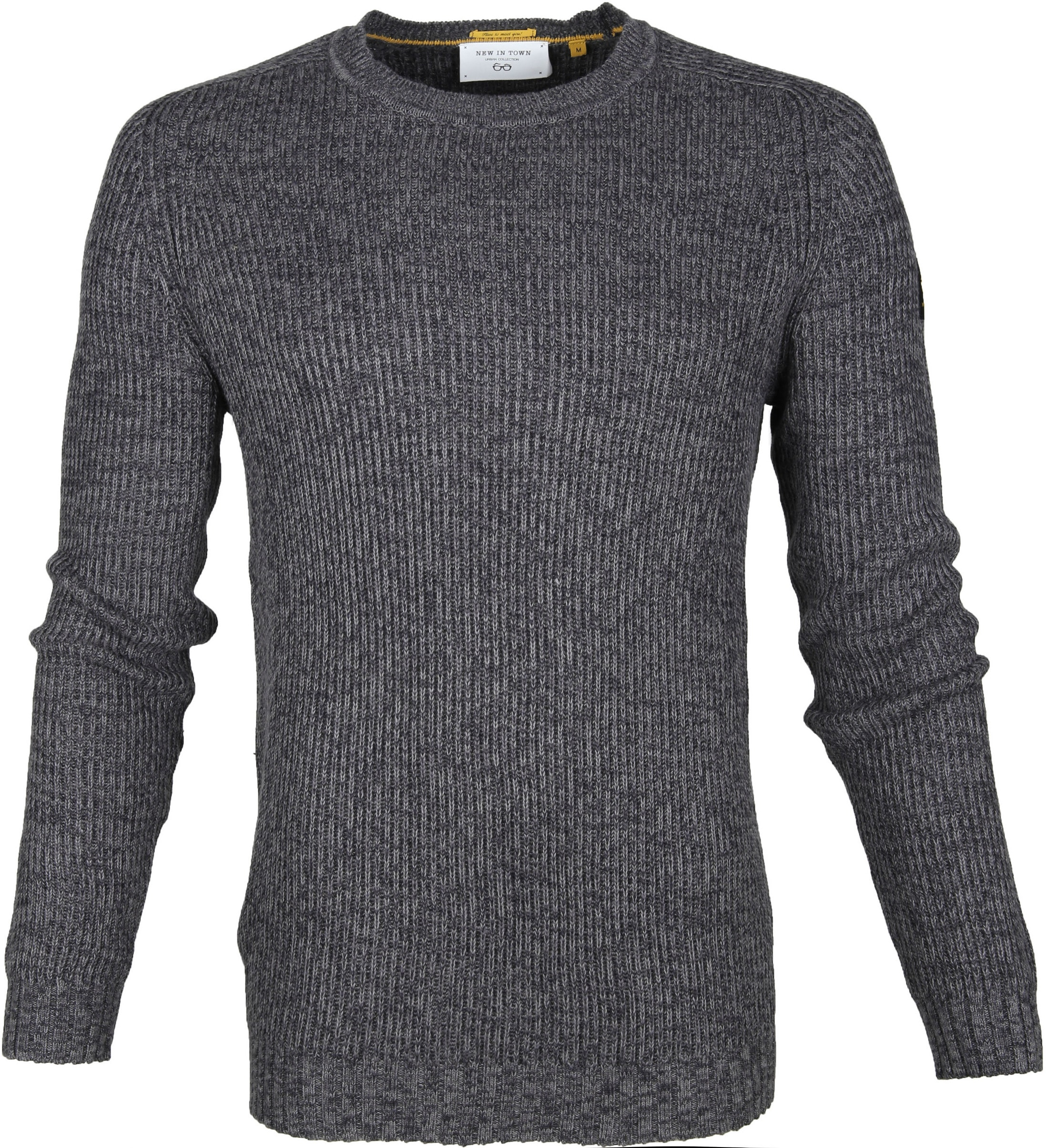 New In Town Sweater Antraciet foto 0