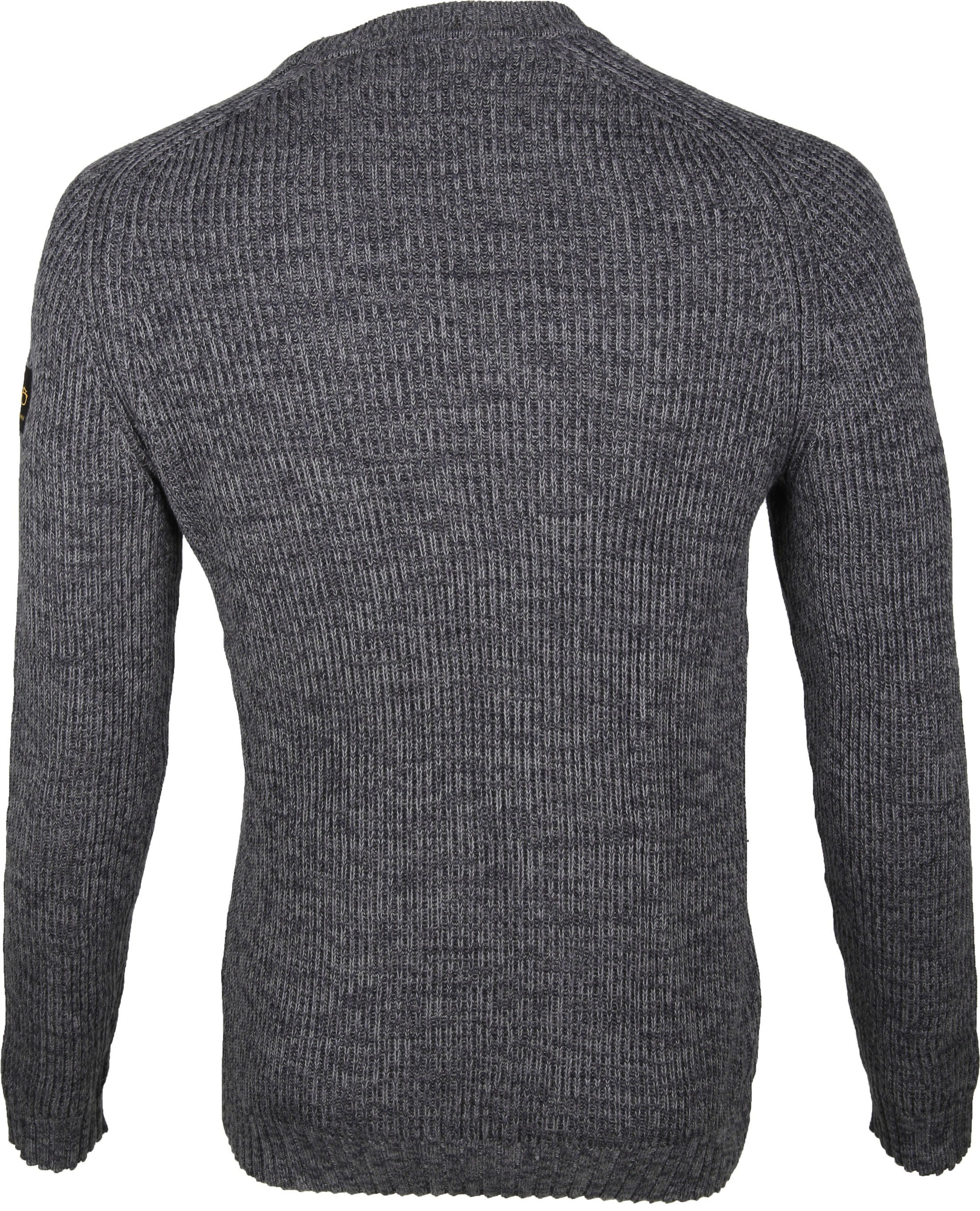 New In Town Sweater Antraciet foto 3