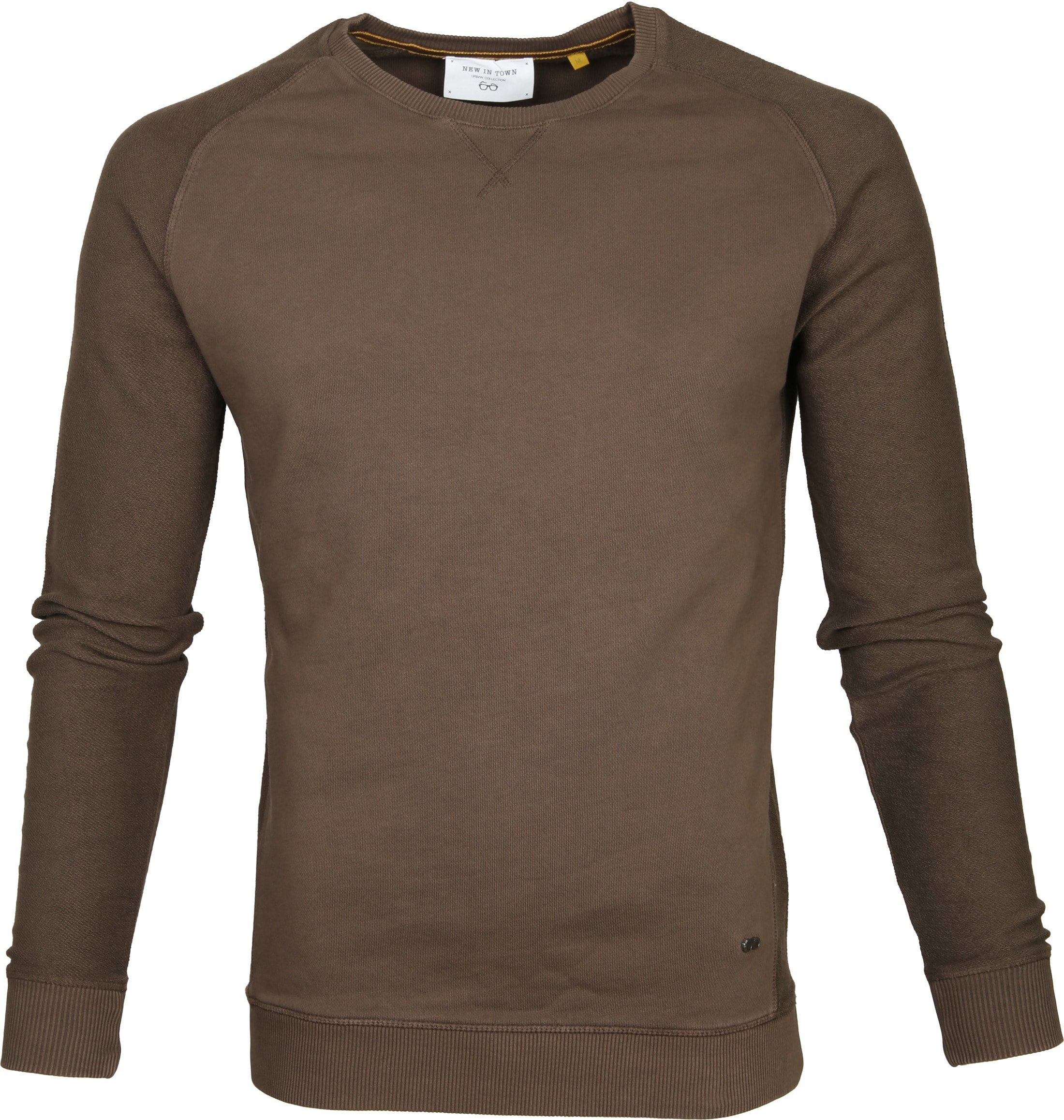 New In Town Sweater Bruin foto 0