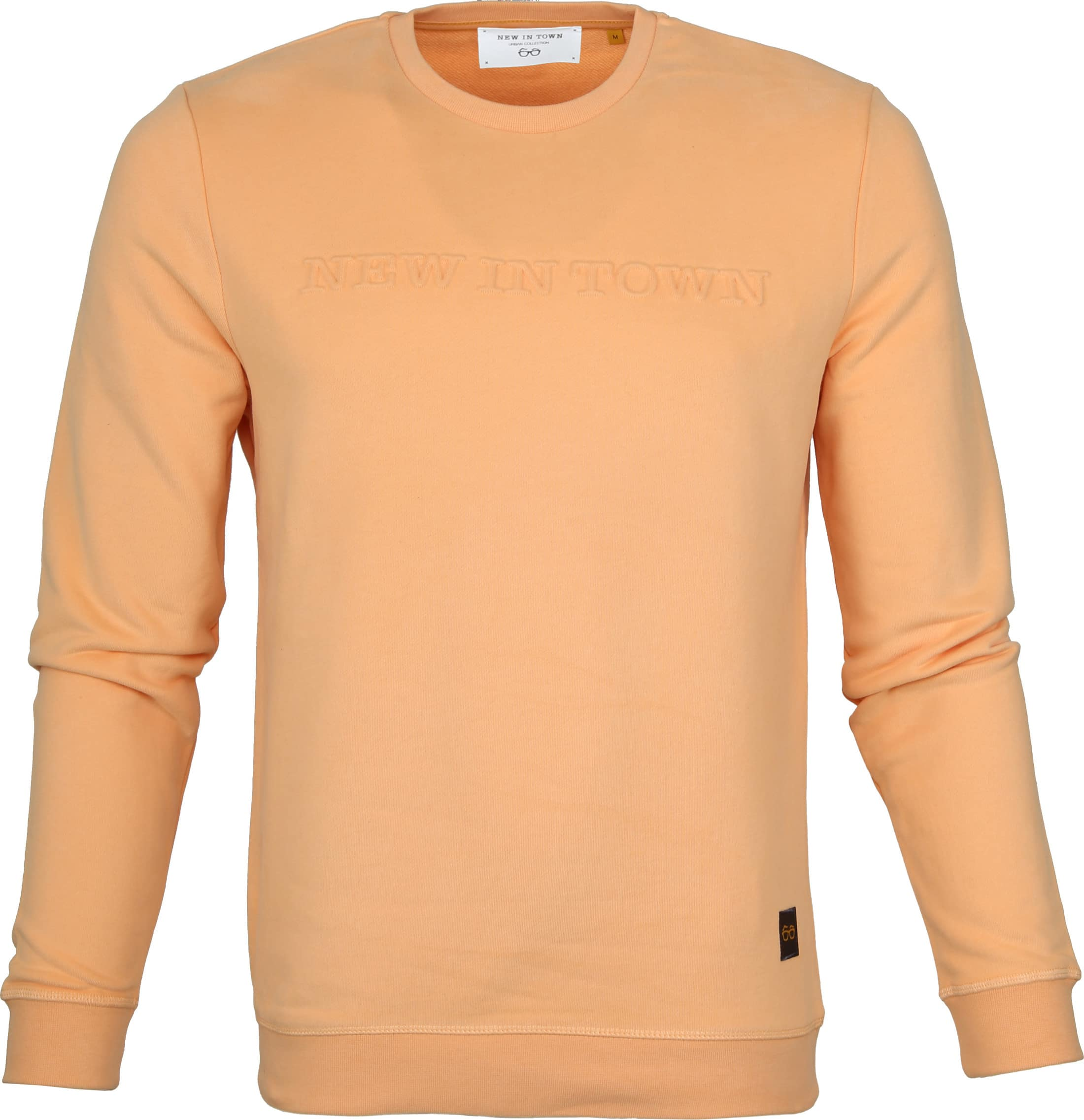 New In Town Sweater Oranje foto 0
