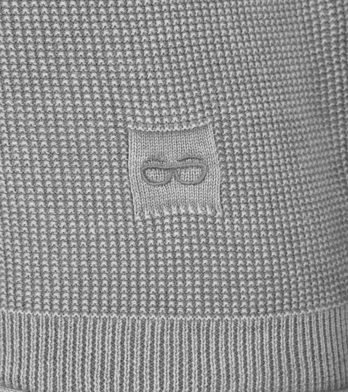 New In Town Sweater Strick Grijs foto 2