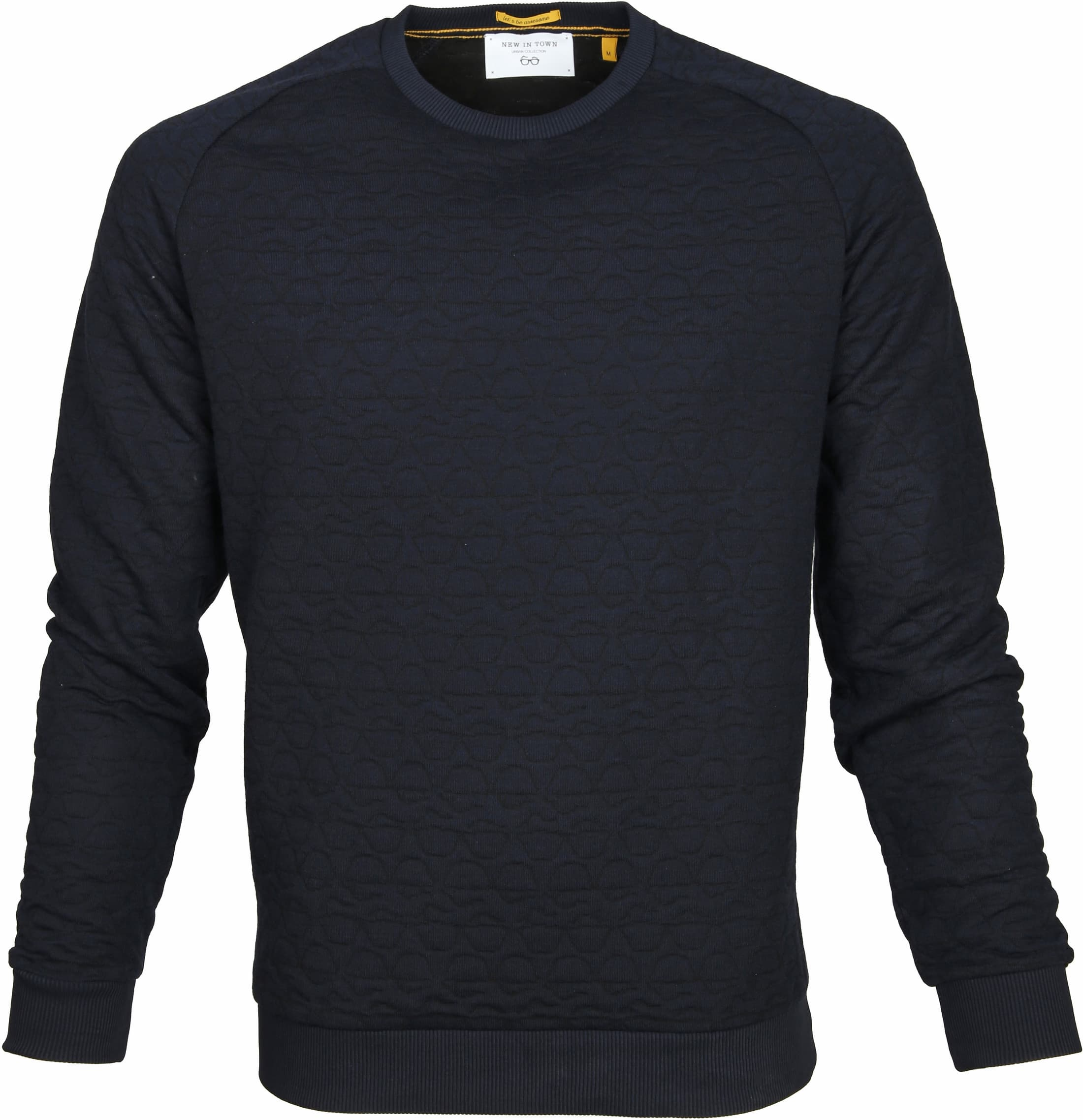 New In Town Sweater Troyer Navy foto 0