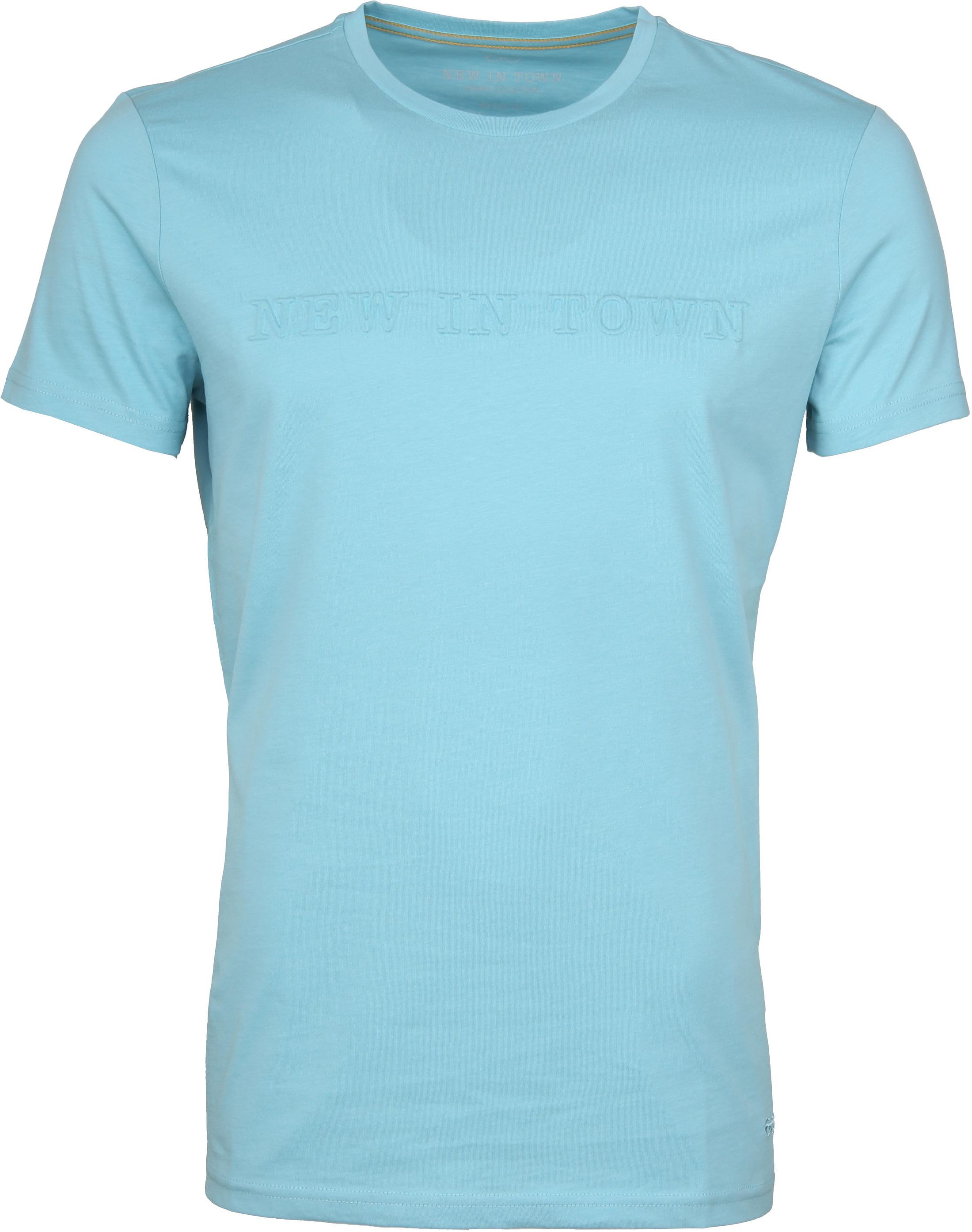 New in Town T-shirt Light Blue foto 0