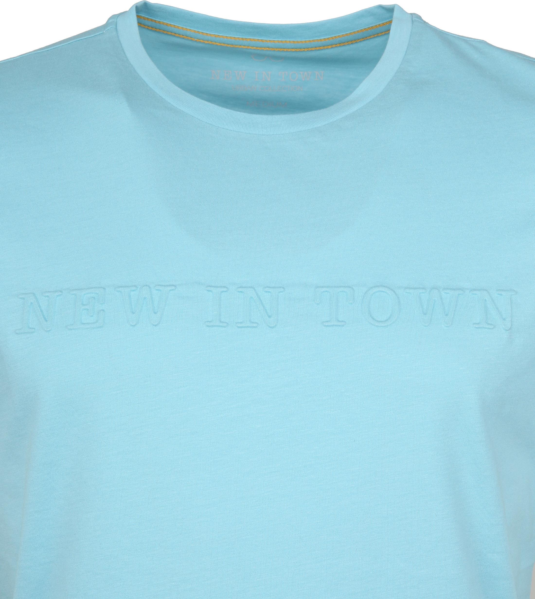 New in Town T-shirt Light Blue foto 1