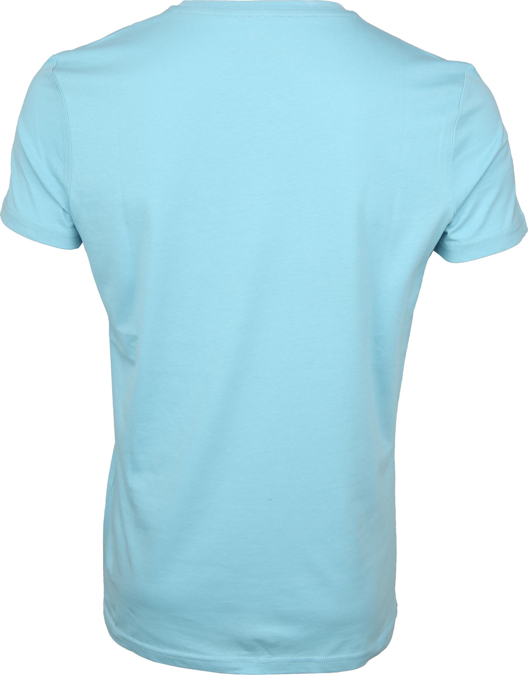 New in Town T-shirt Light Blue foto 2
