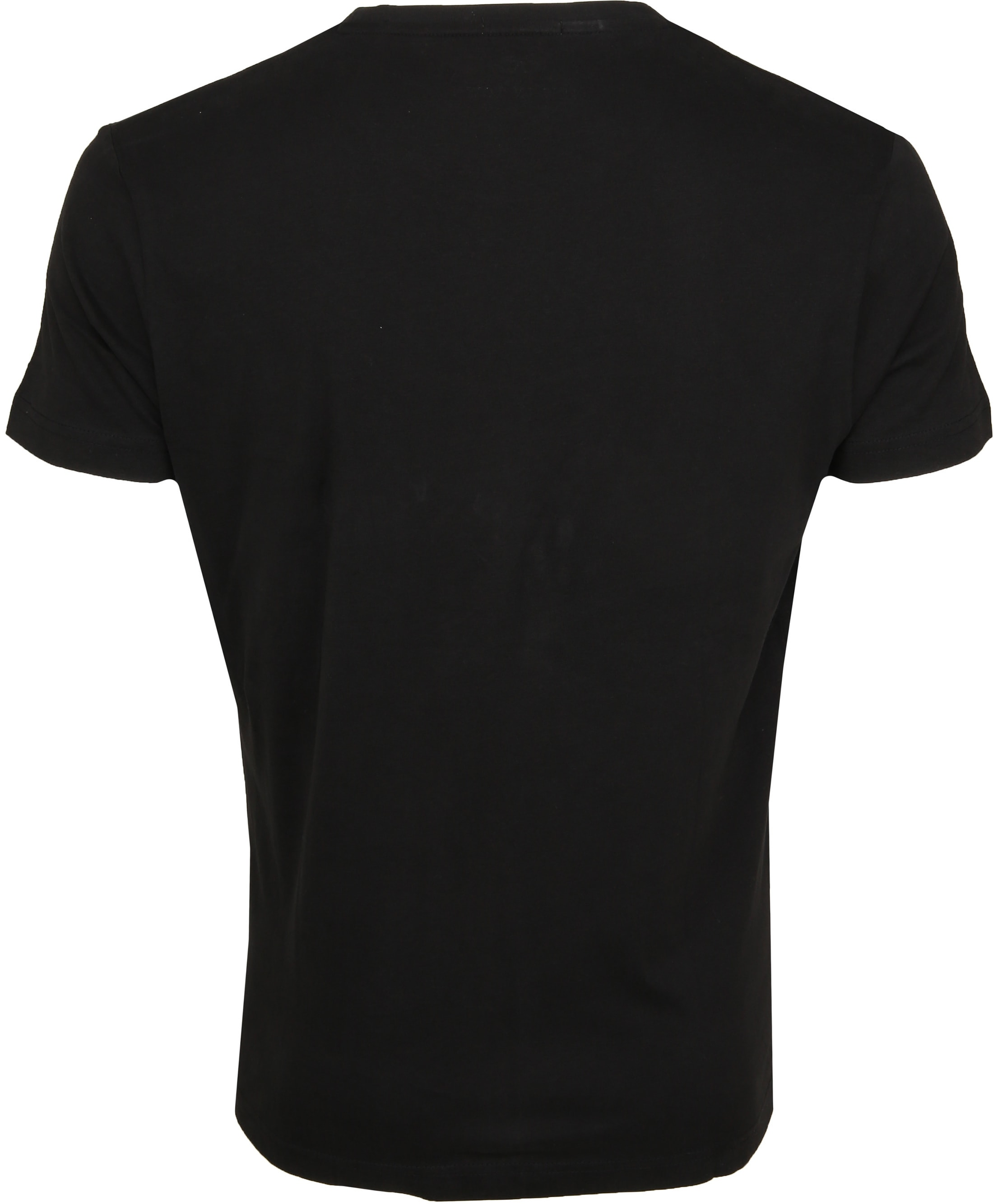 New in Town T-shirt Serafino Zwart foto 2