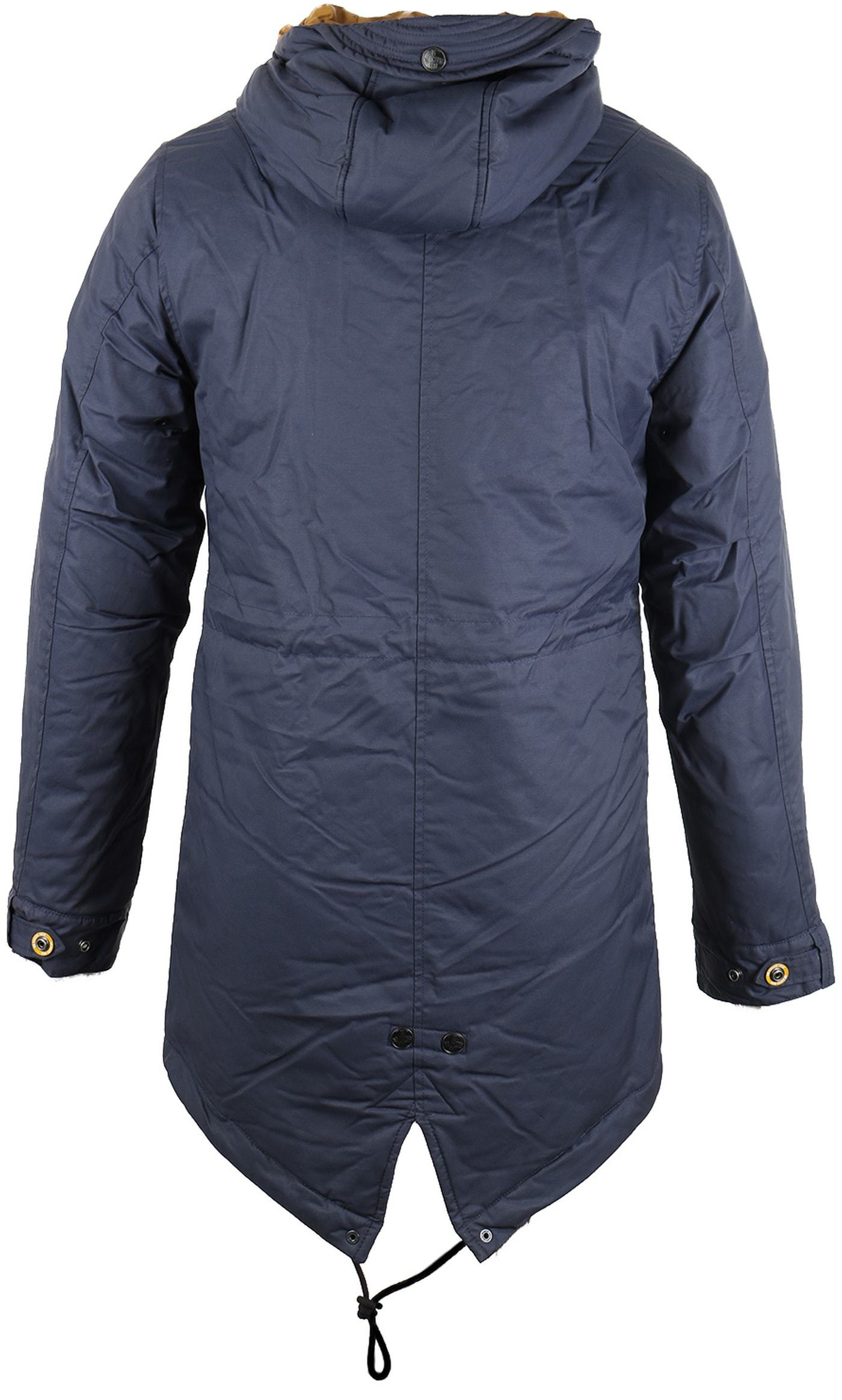 No-Excess Fishtail Parka Donkerblauw foto 1