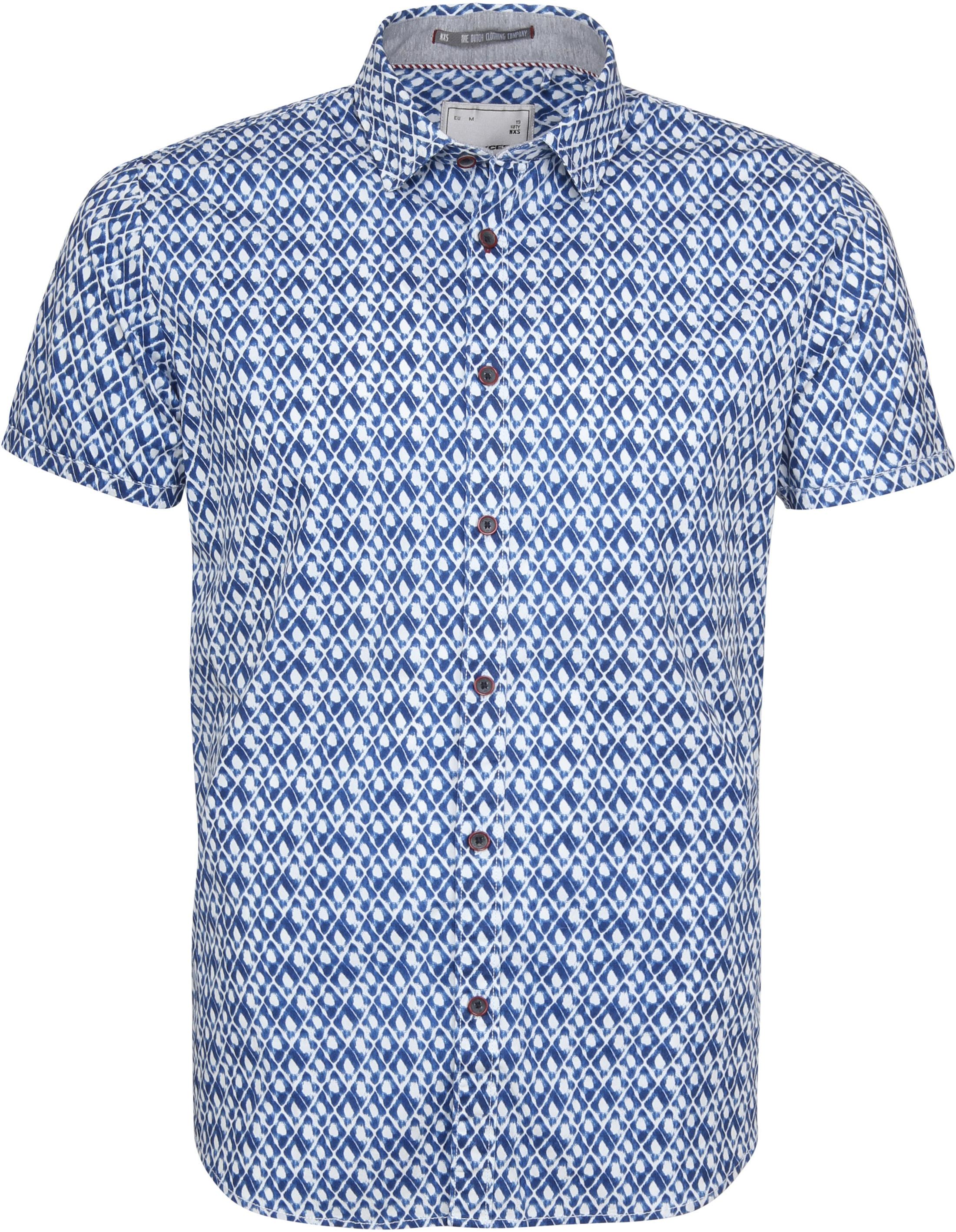 gut aus x Top-Mode die beste Einstellung No-Excess Hemd SS Print Indigo 90460304 online kaufen | Suitable