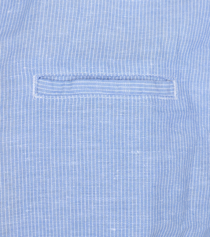 No-Excess Overhemd Blauw Streep foto 2