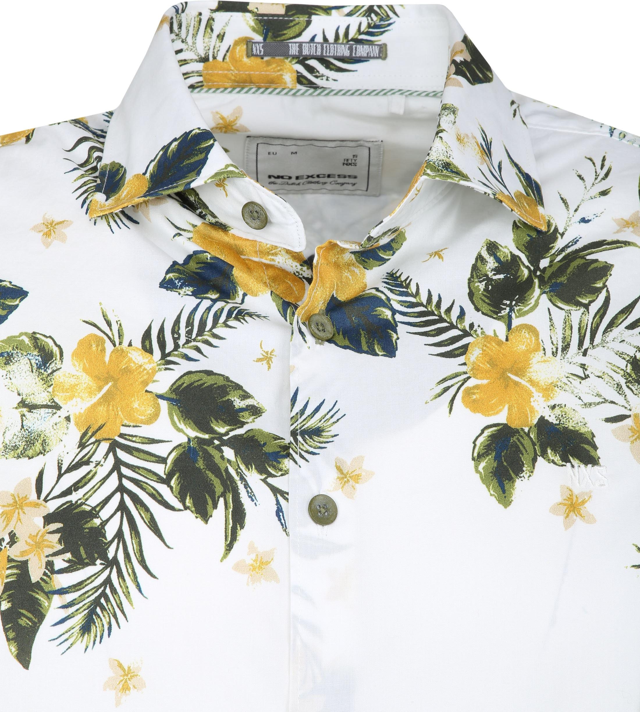 No-Excess Overhemd Hibiscus foto 1