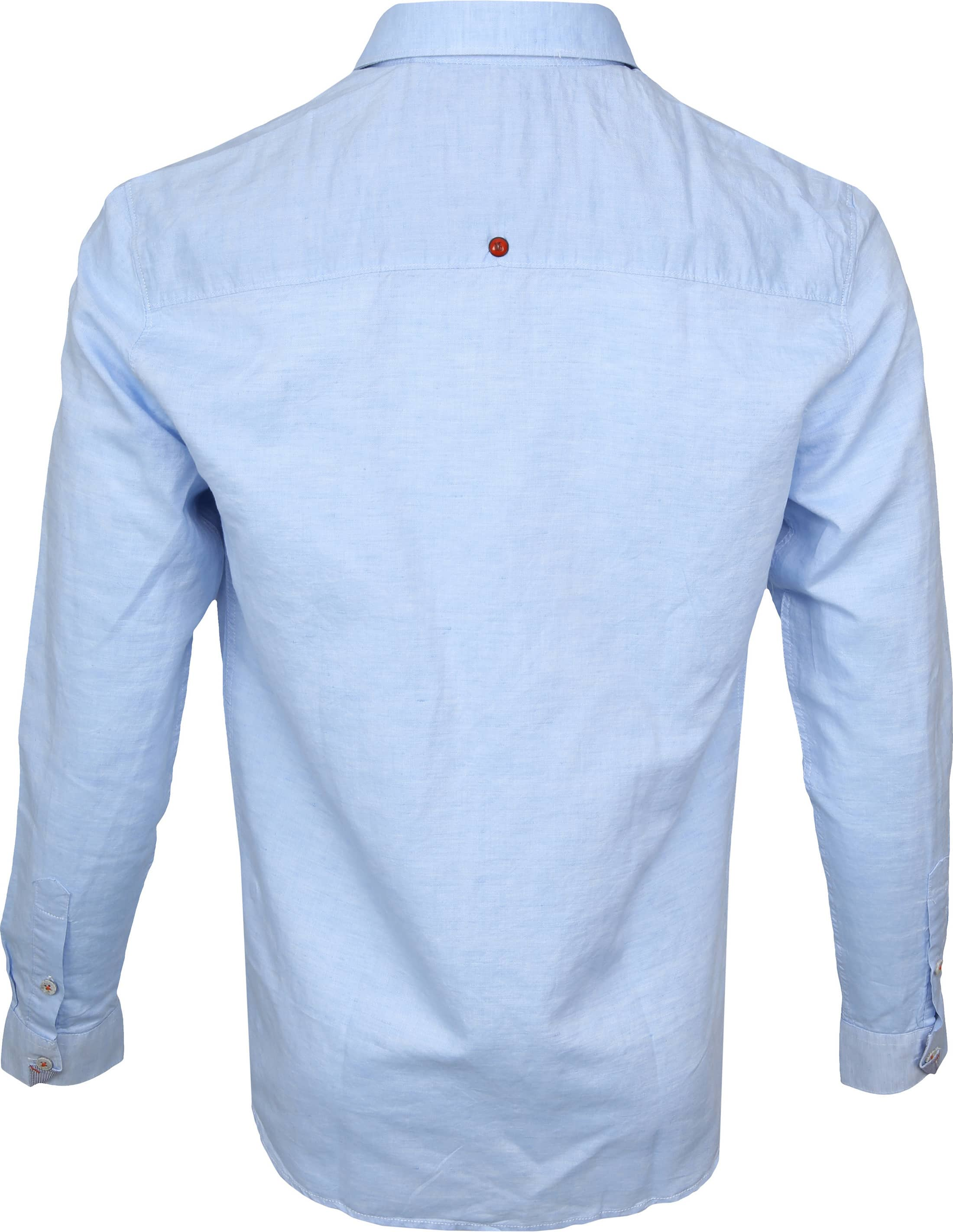 No-Excess Overhemd Lichtblauw foto 3