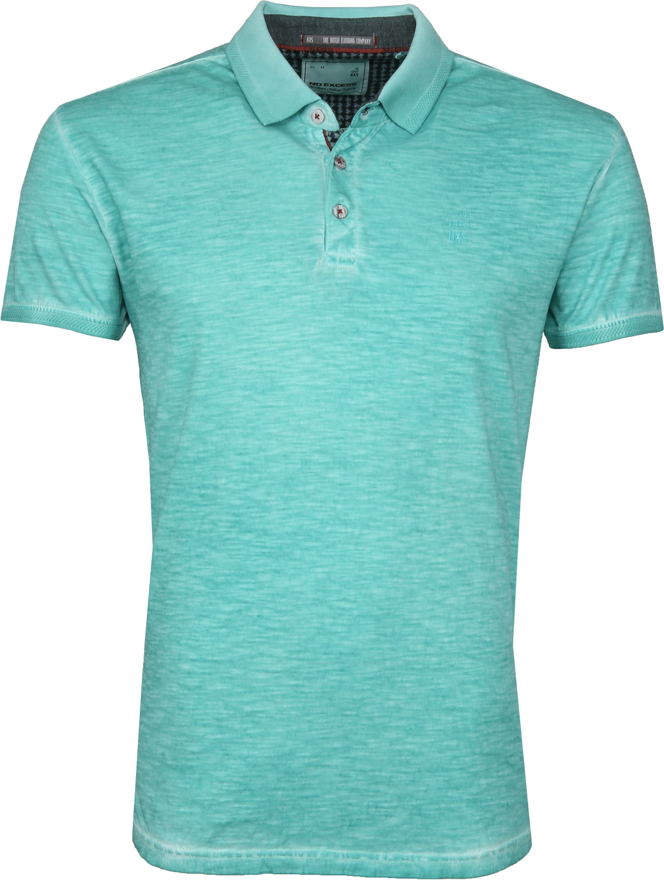 No Excess Polo Cold Dyed Turquoise foto 0