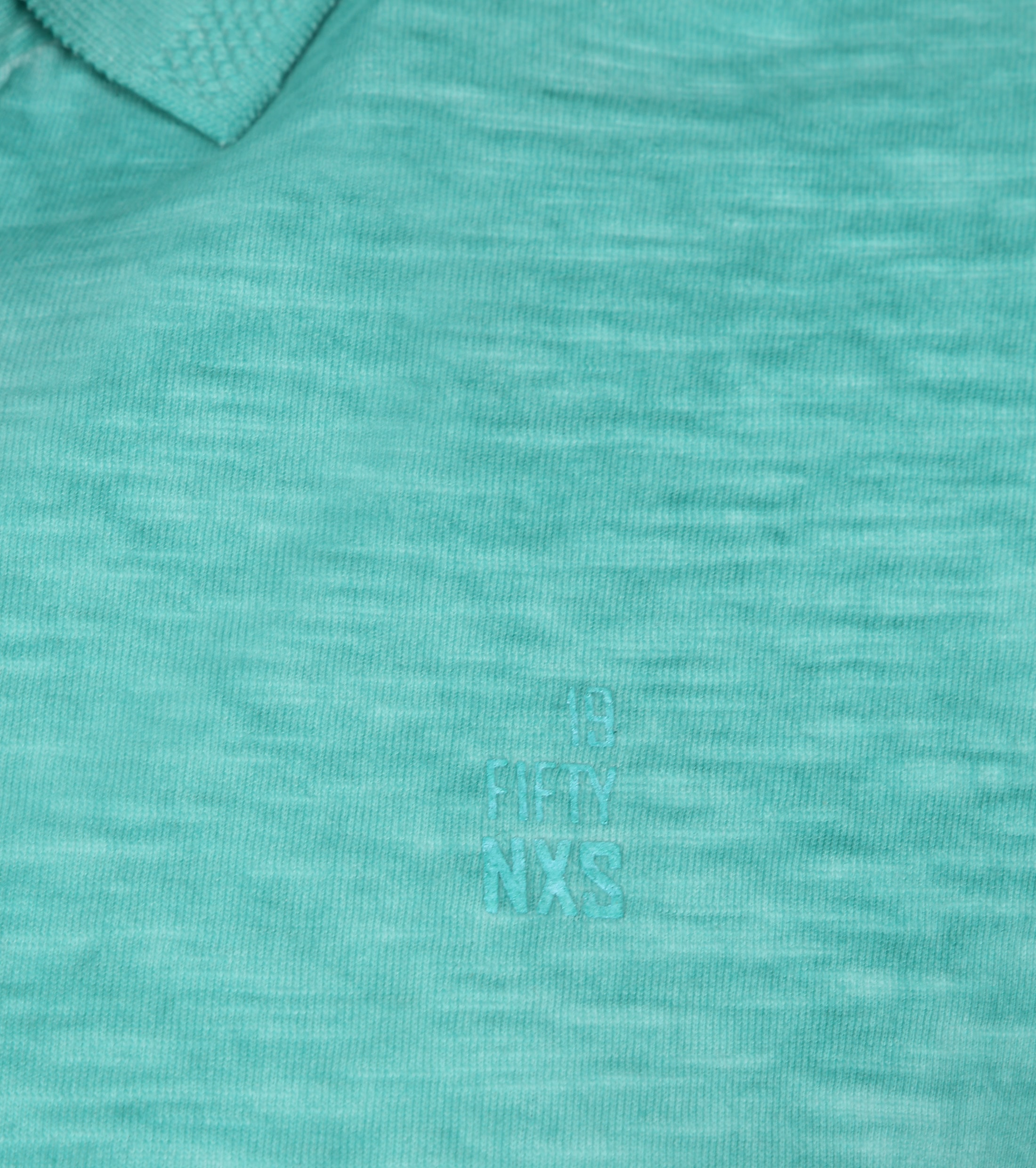 No Excess Polo Cold Dyed Turquoise foto 2