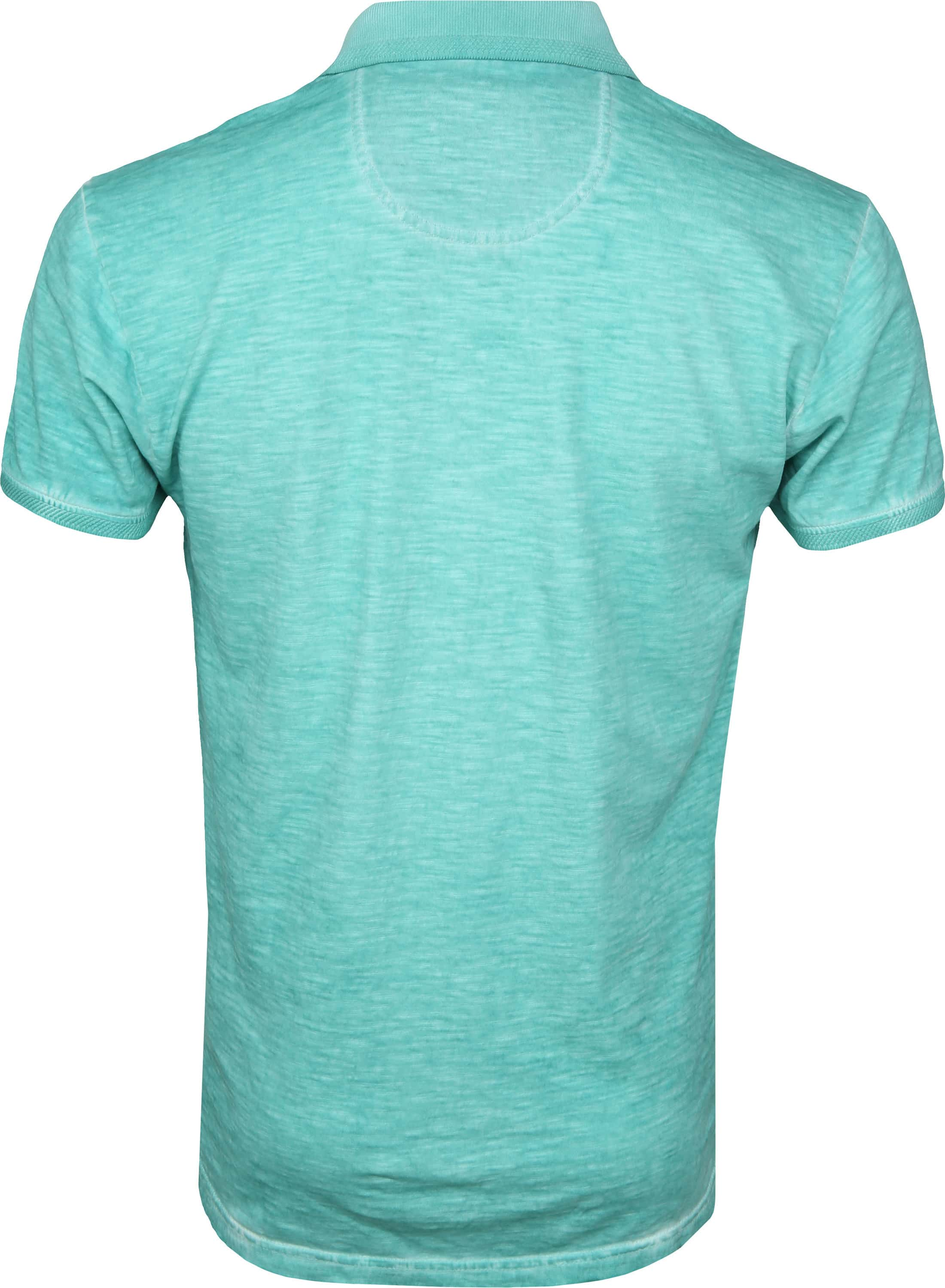 No Excess Polo Cold Dyed Turquoise foto 3