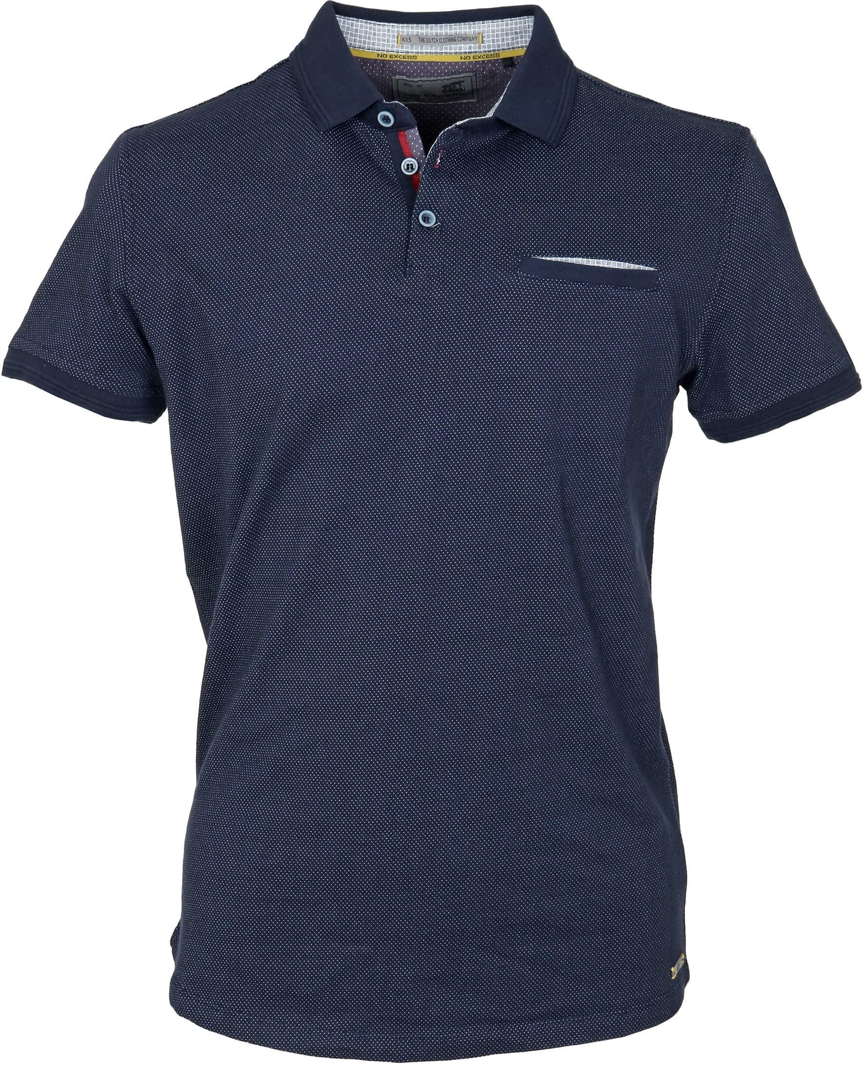 No-Excess Polo Pinpoint Navy foto 0