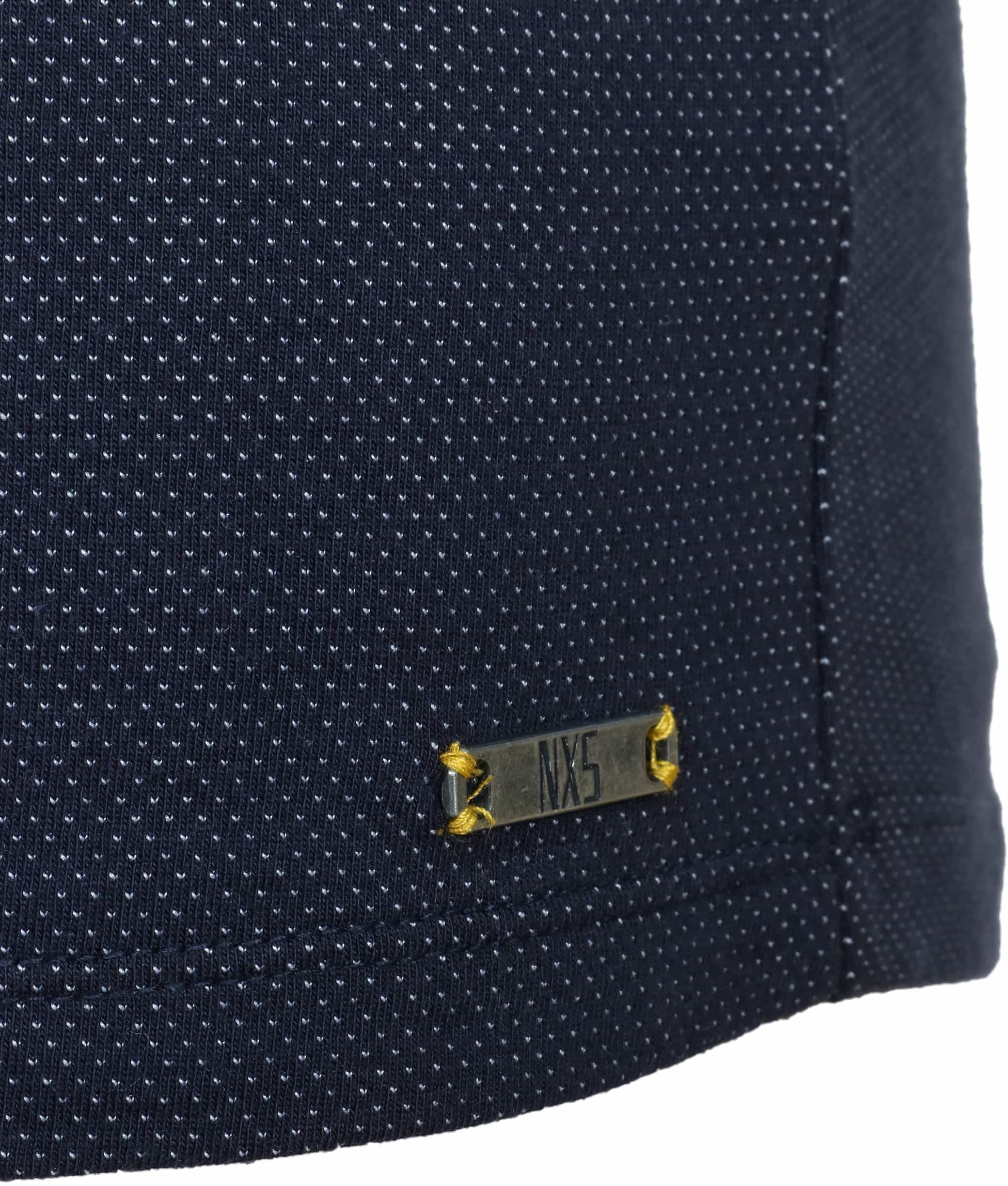 No-Excess Polo Pinpoint Navy foto 2