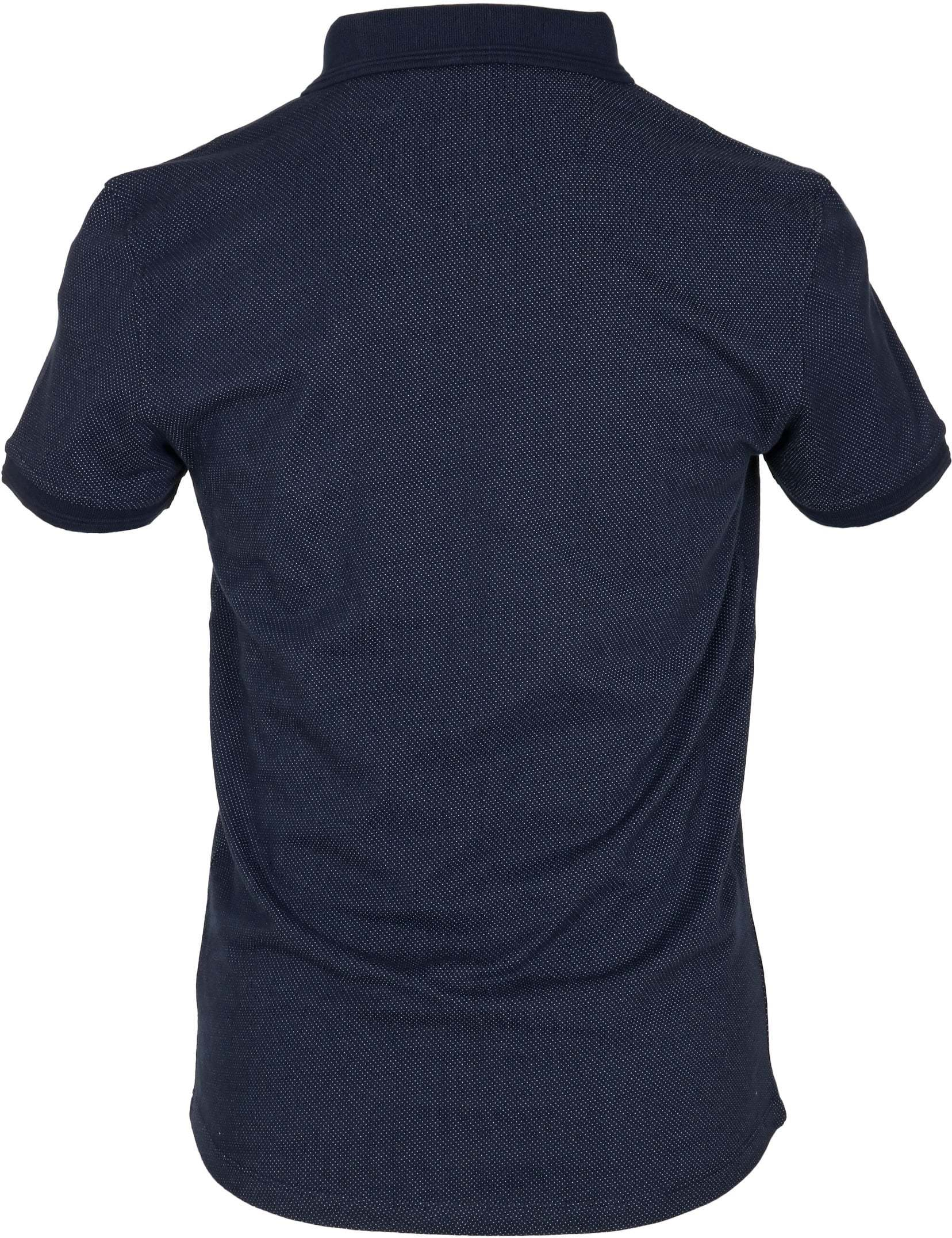 No-Excess Polo Pinpoint Navy foto 3