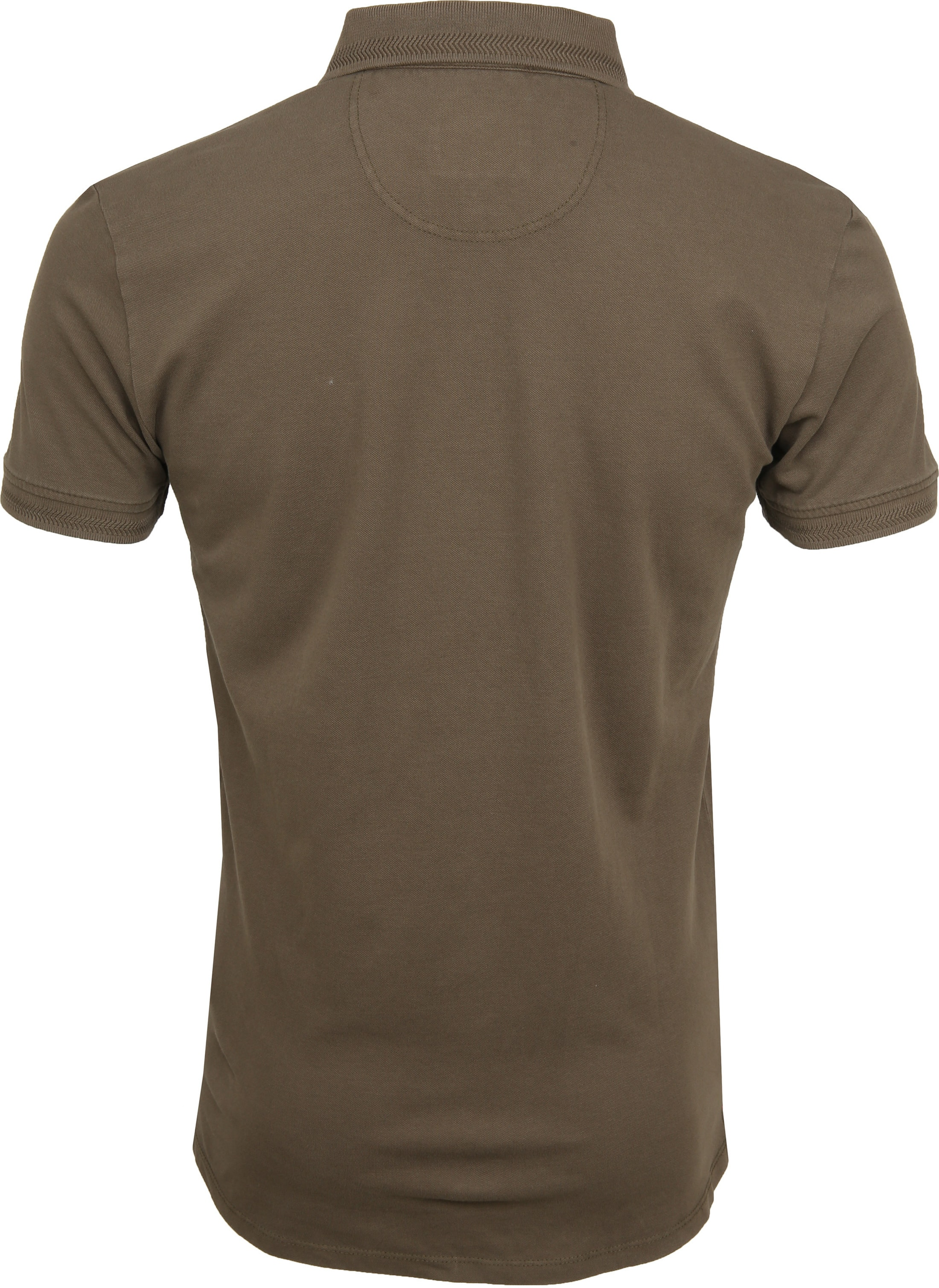 No Excess Poloshirt Stretch Army foto 3
