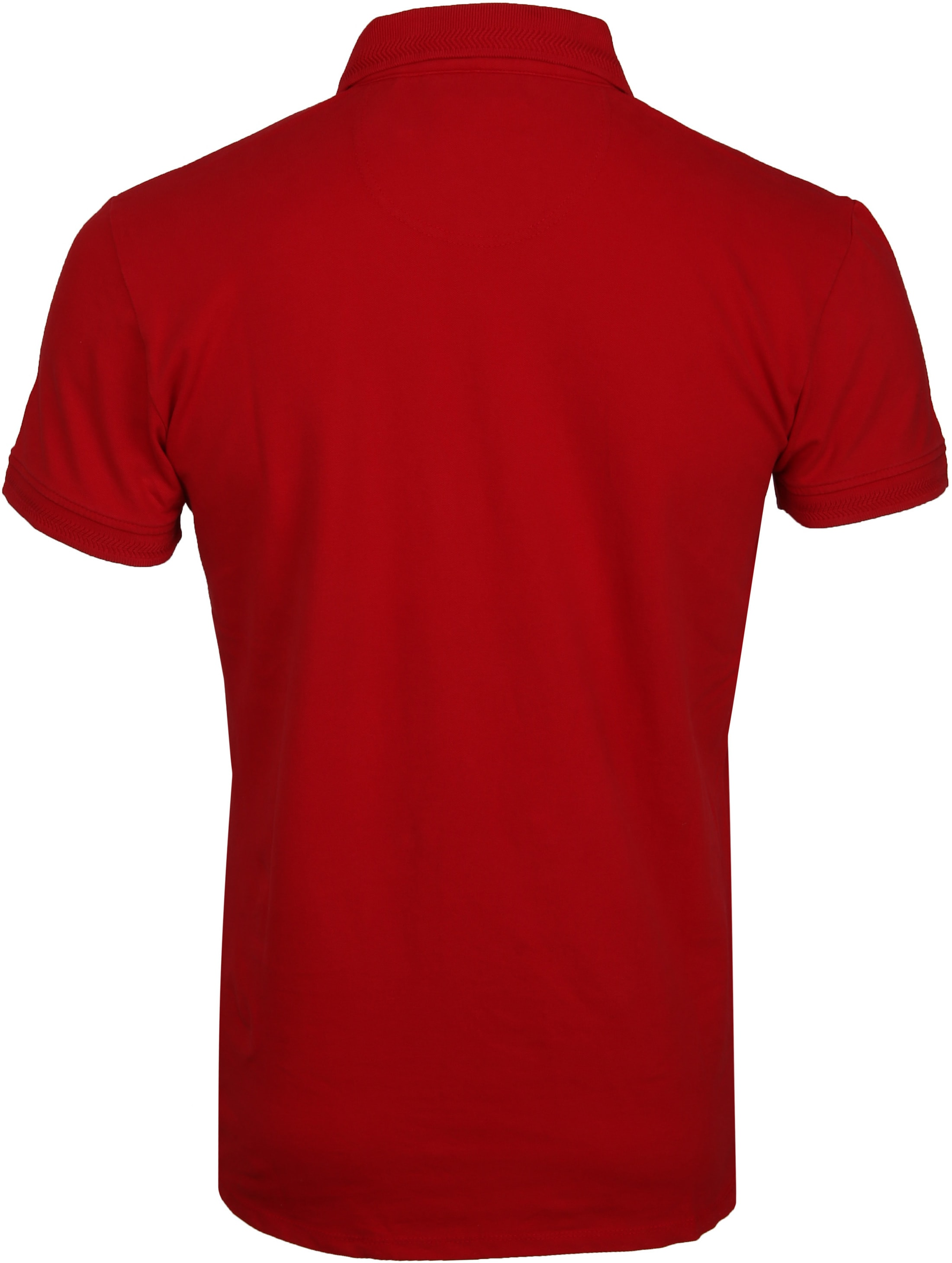 No Excess Poloshirt Stretch Rood foto 3