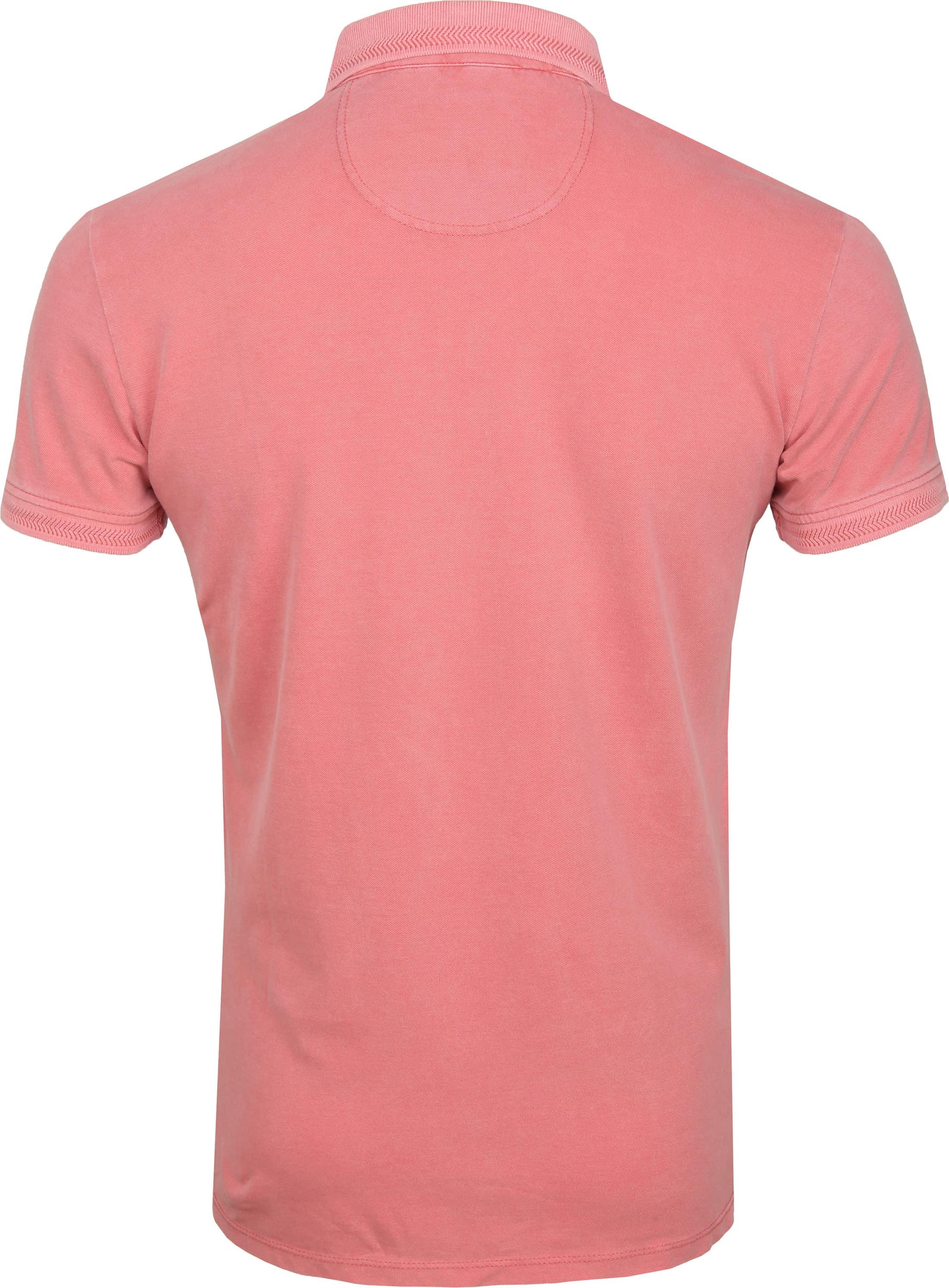 No Excess Poloshirt Stretch Roze foto 3