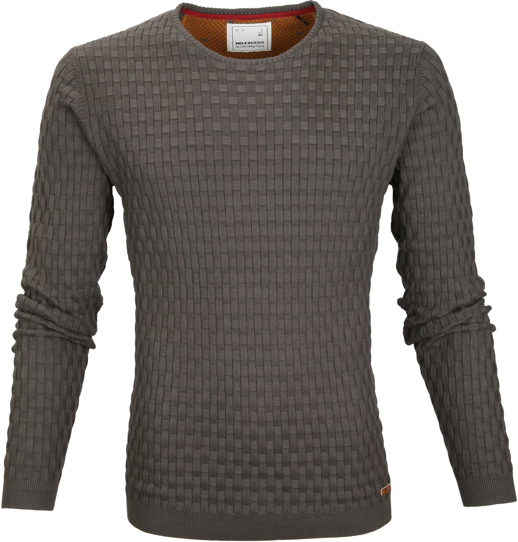 No-Excess Pullover Dark Steel foto 0
