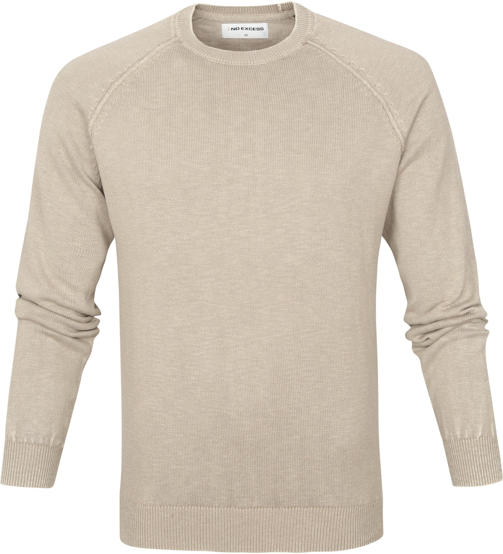 No-Excess Pullover Garment Dye Khaki