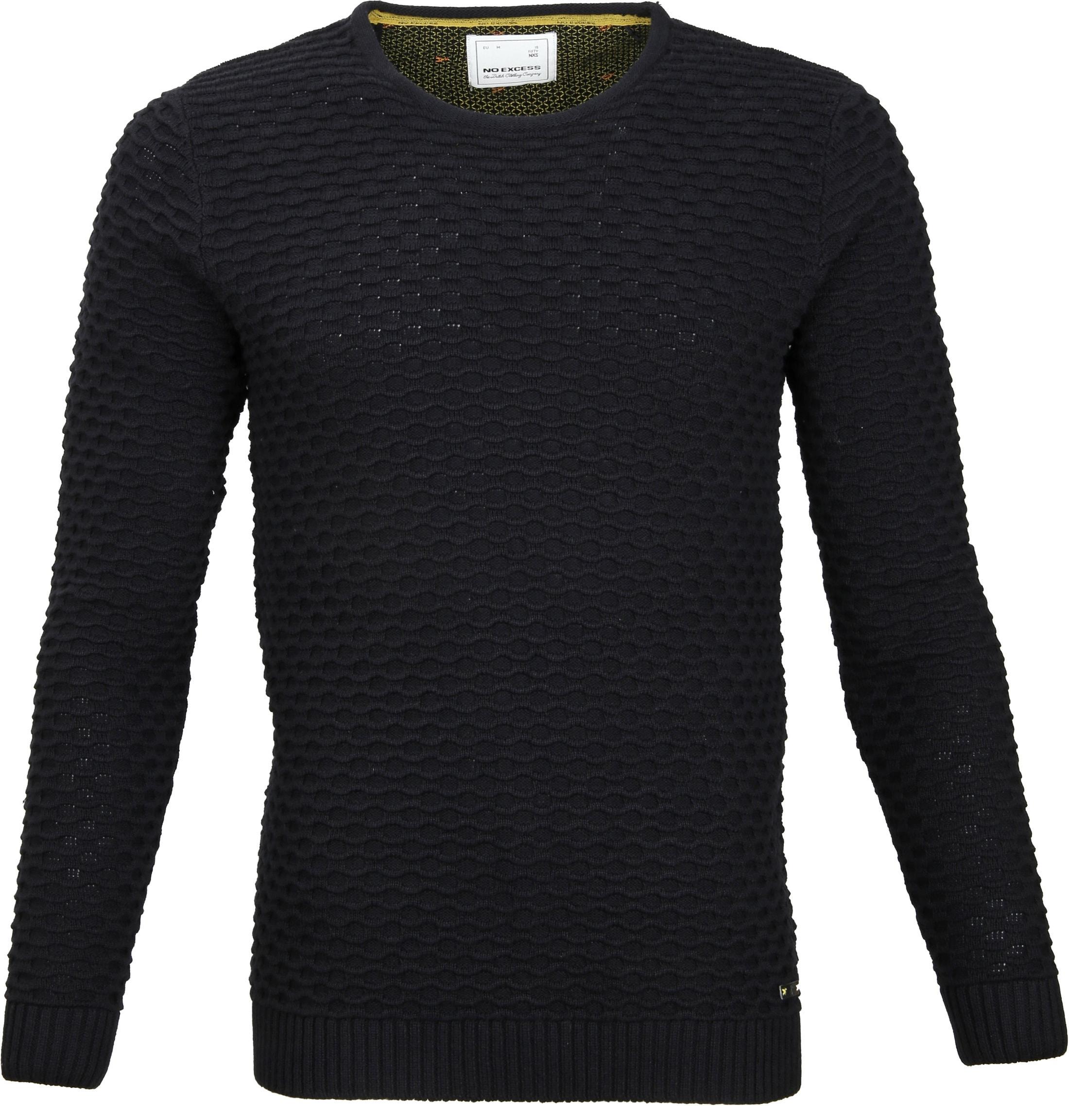 No-Excess Pullover Zwart foto 0