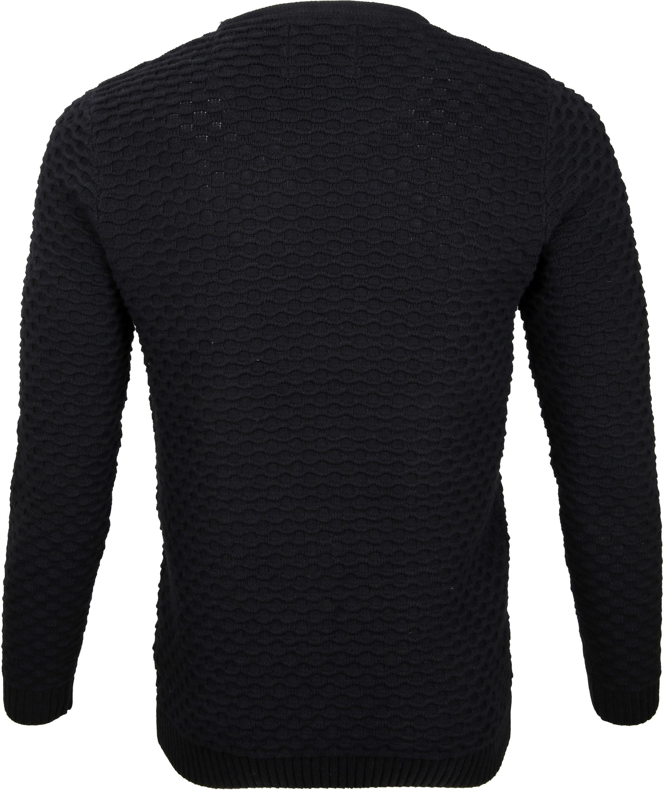 No-Excess Pullover Zwart foto 3
