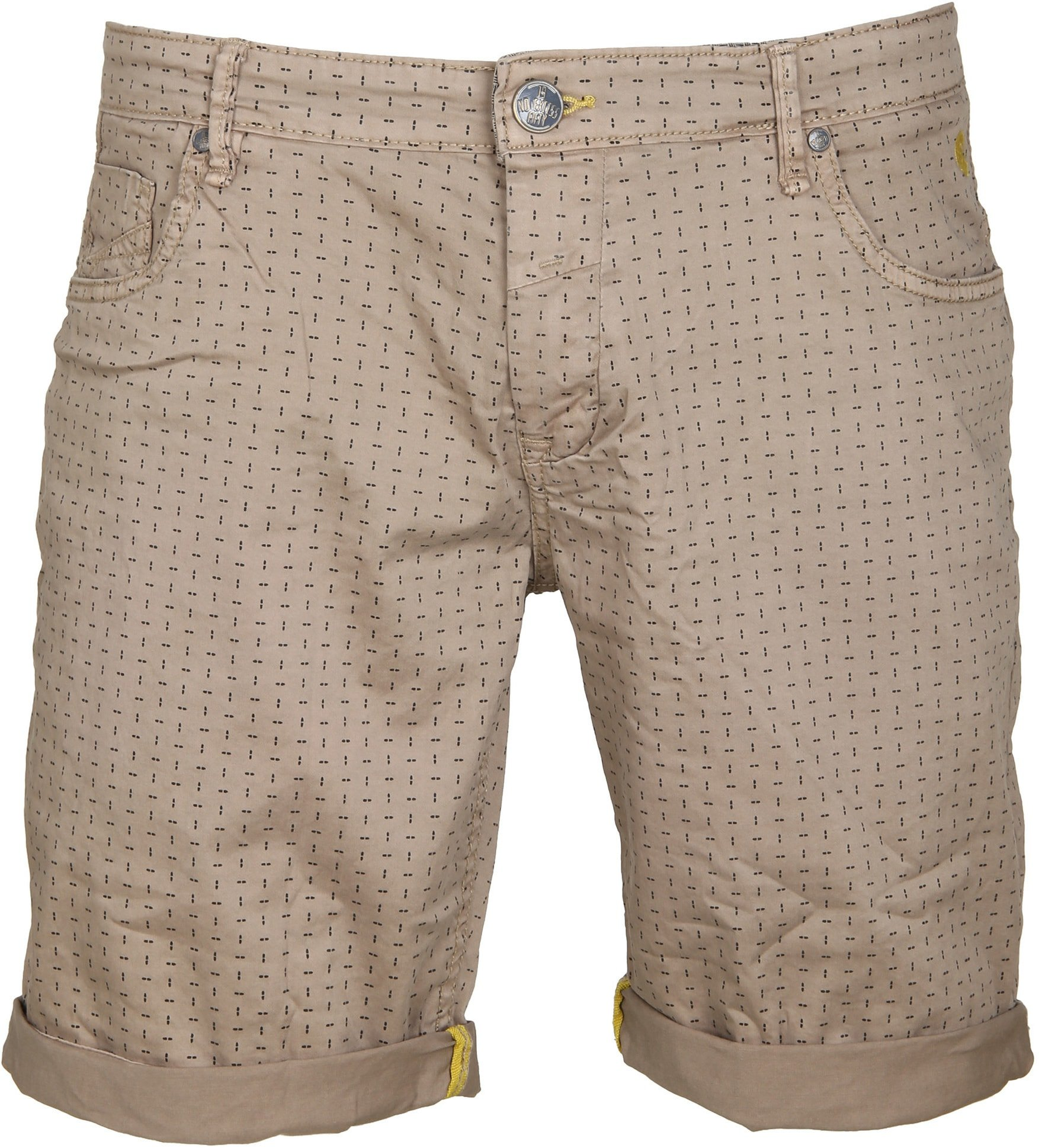 No-Excess Short Dyed Khaki foto 0