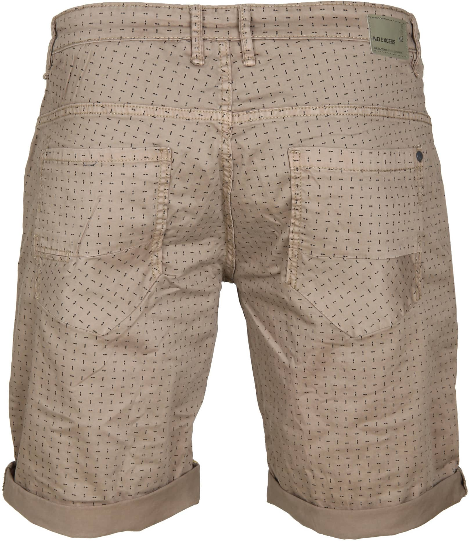 No-Excess Short Dyed Khaki foto 2