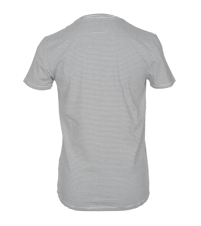 No-Excess T-shirt Grau Streifen foto 2