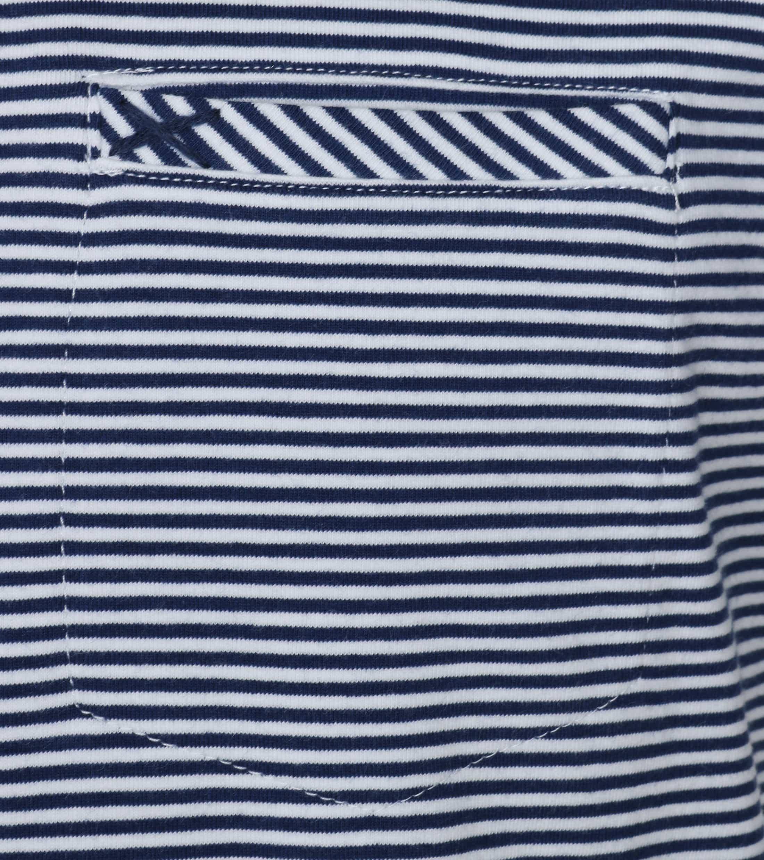 No-Excess T-shirt Navy Streep foto 1