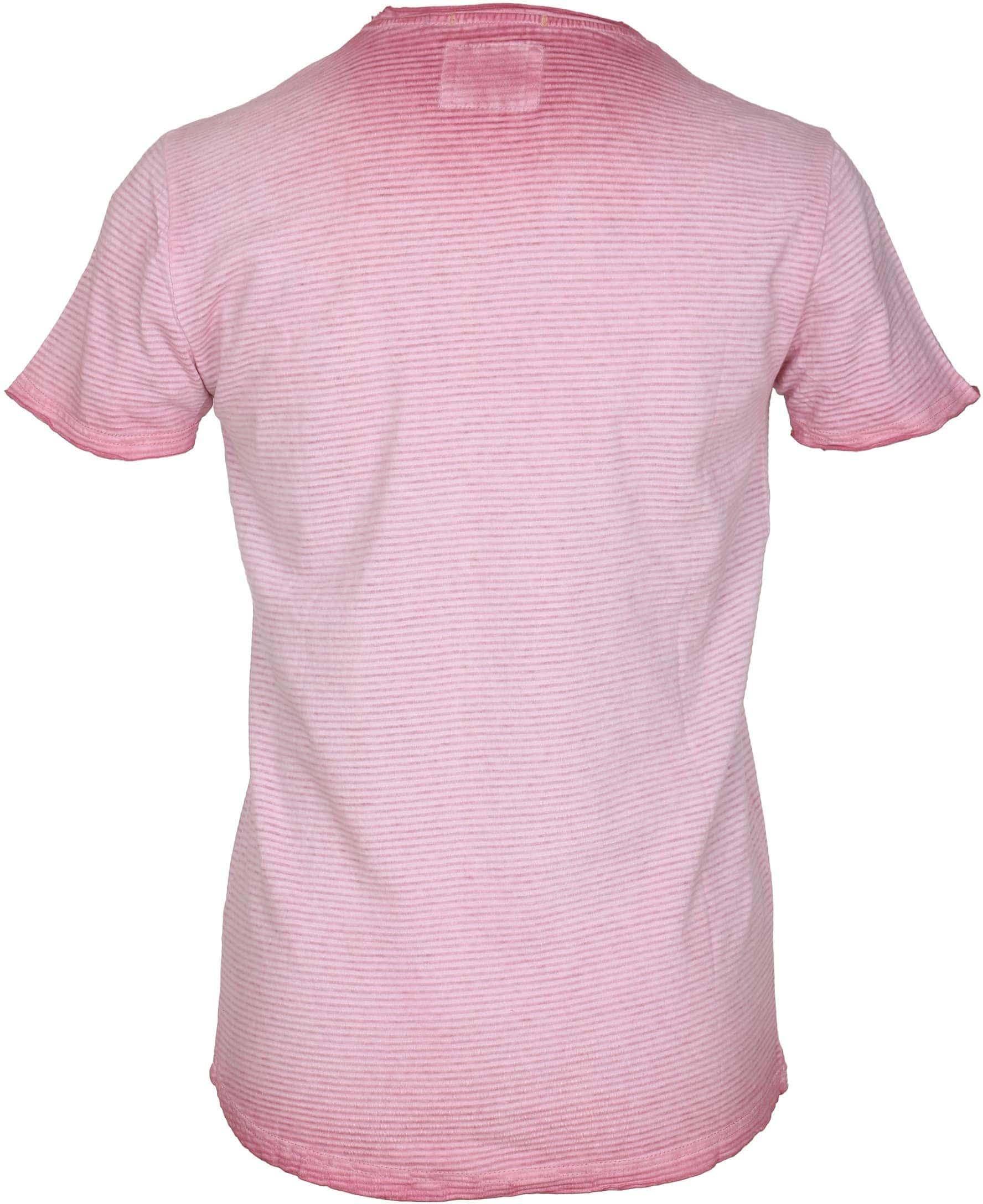 No-Excess T-shirt Rosa Streifen foto 2