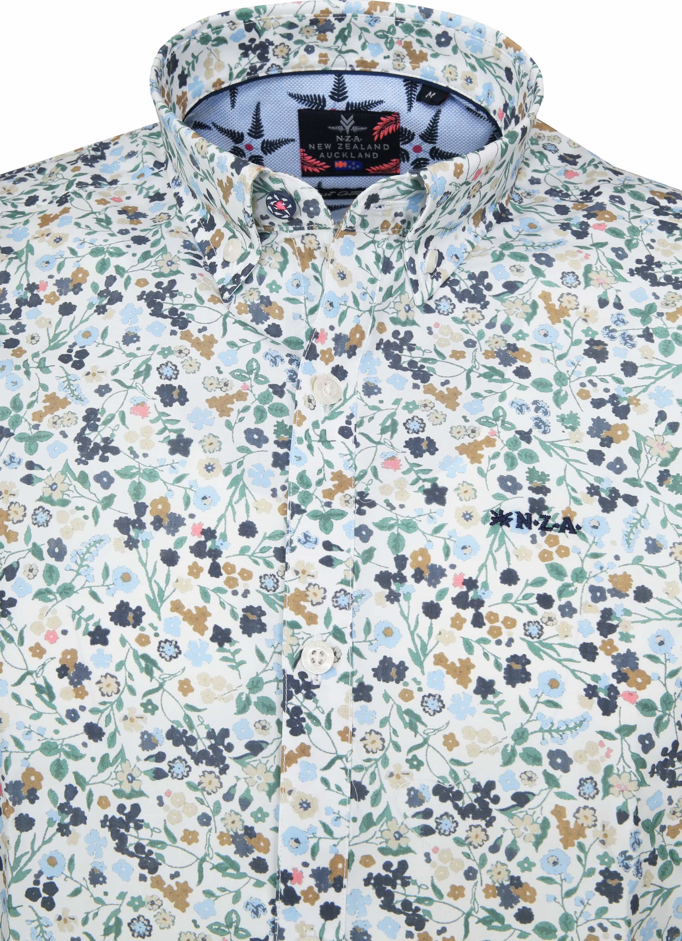 NZA Casual Overhemd Kapitea Flower foto 1