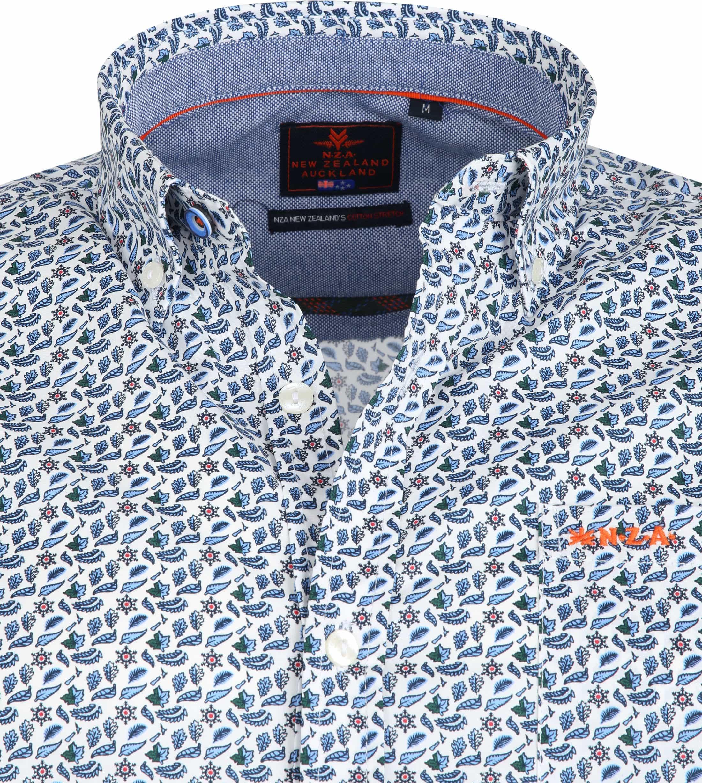 NZA Casual Shirt Hamilton Blue foto 1